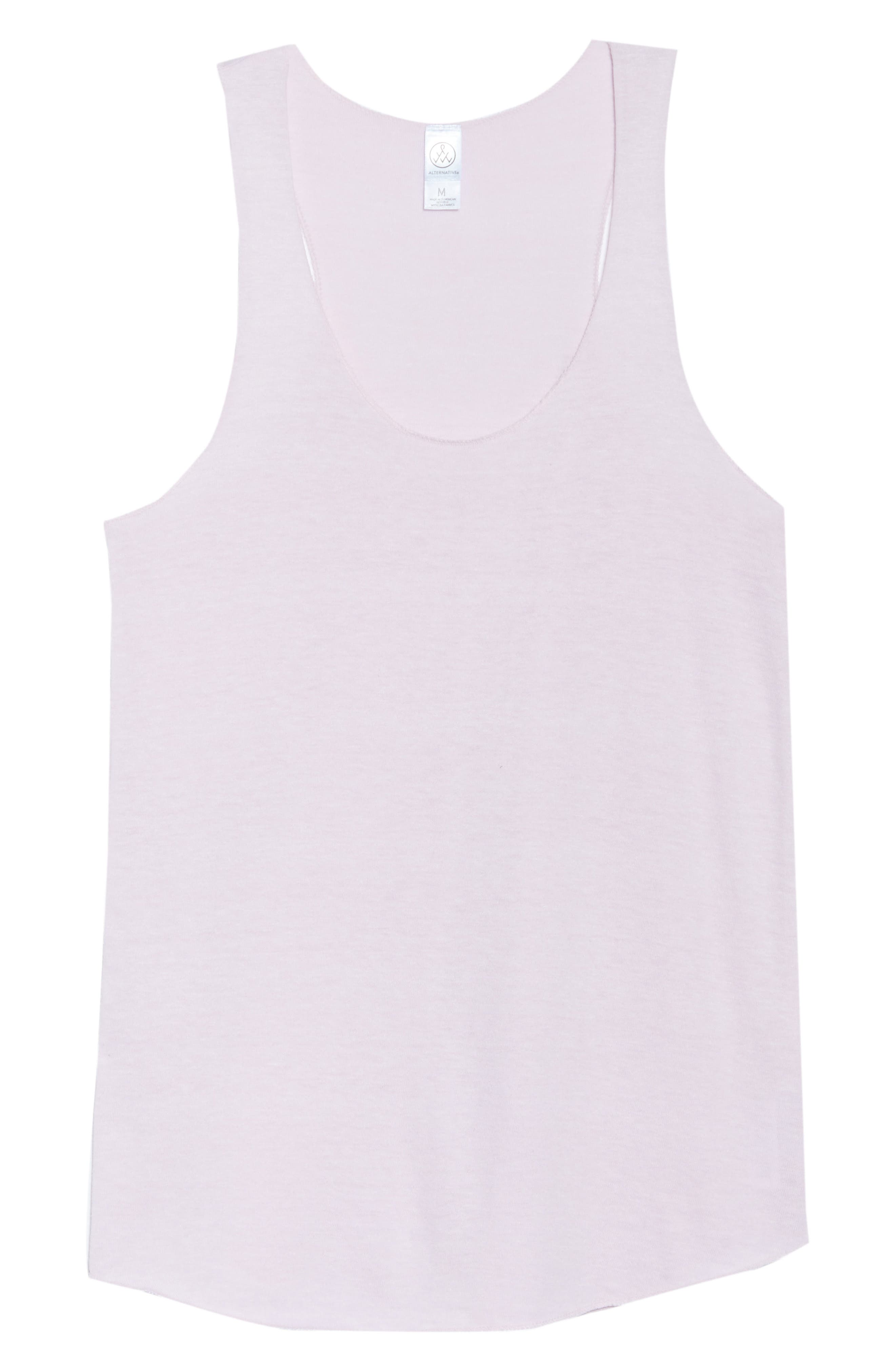 Meegs Racerback Tank,                             Alternate thumbnail 6, color,                             Eco Lilac Orchid