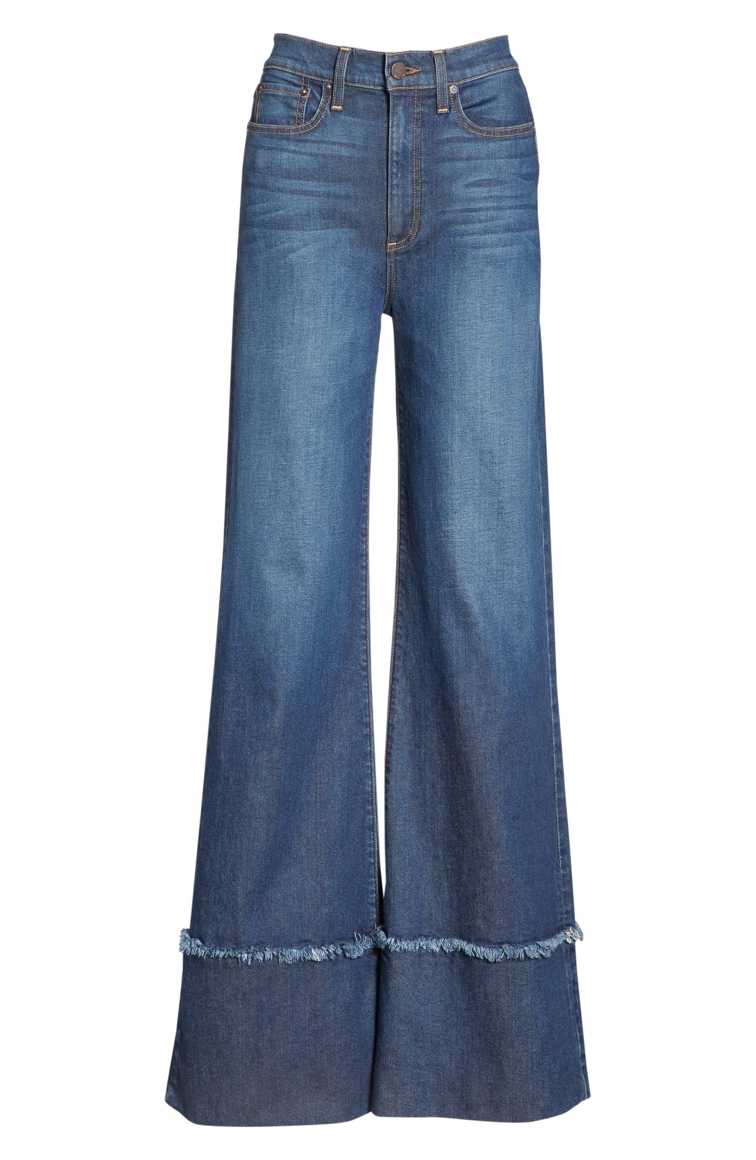 Gorgeous Flare Leg Jeans,                             Alternate thumbnail 6, color,                             So Clever