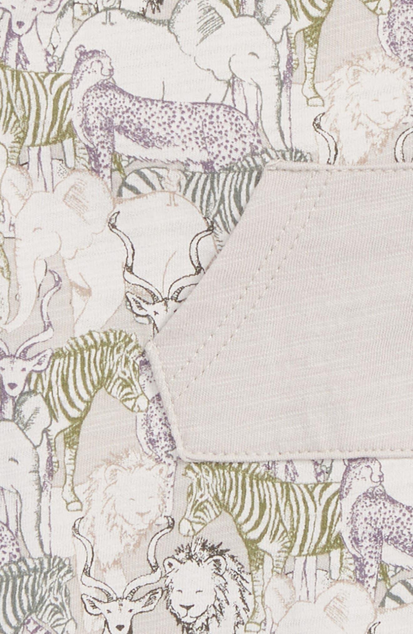 Peek Owen Bubble Romper,                             Alternate thumbnail 3, color,                             Grey