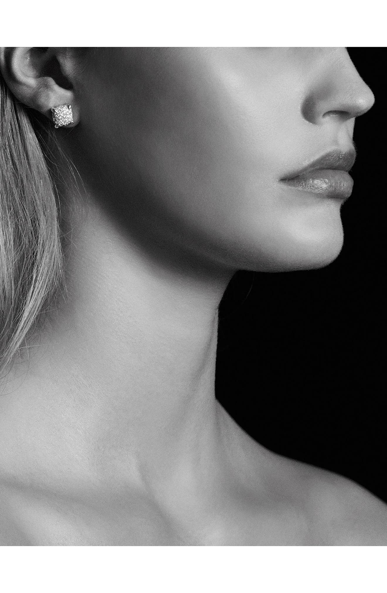 'Châtelaine' Earrings with Diamonds,                             Alternate thumbnail 3, color,