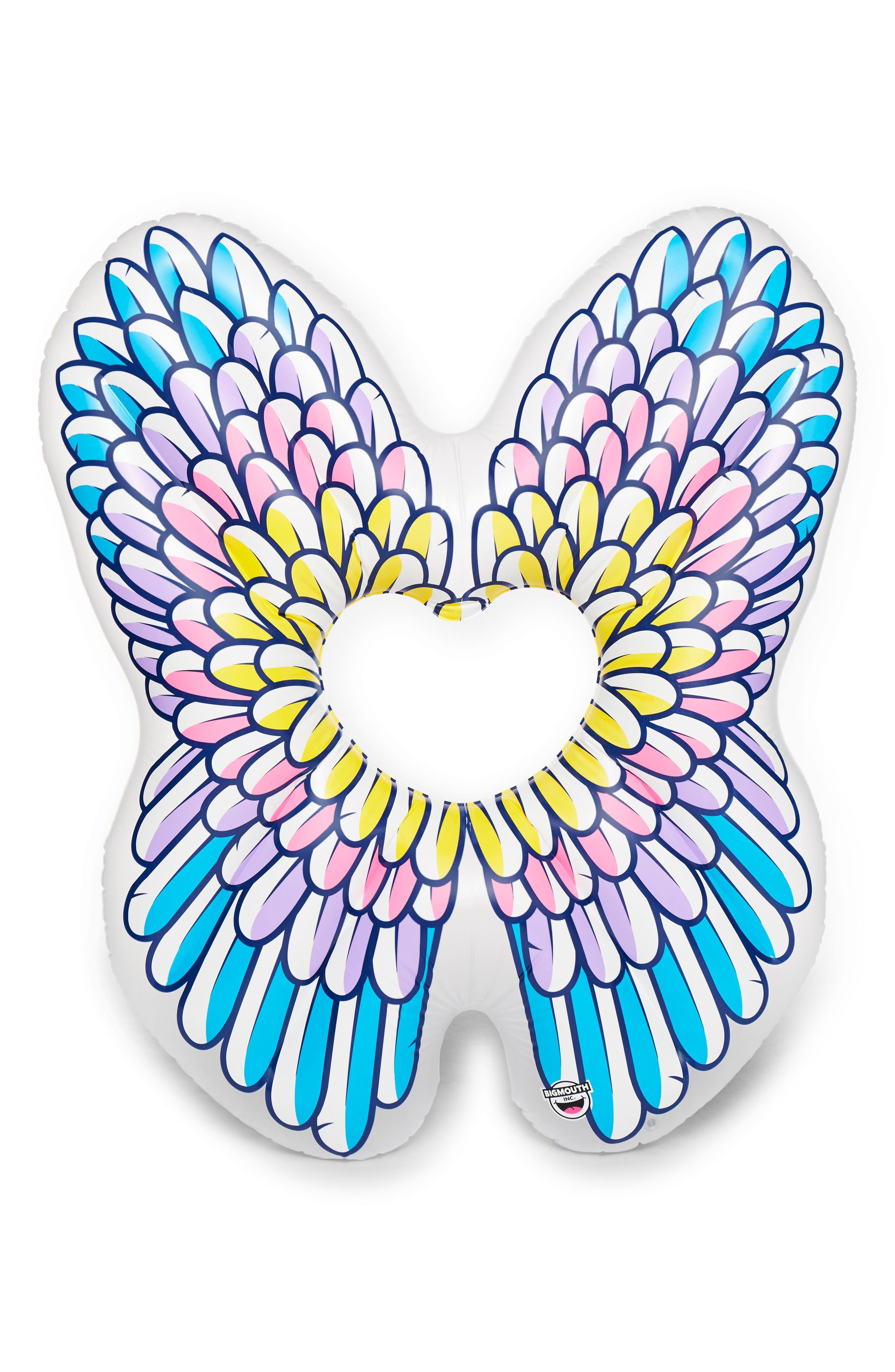 Angel Wings Pool Float,                             Main thumbnail 1, color,                             Multi