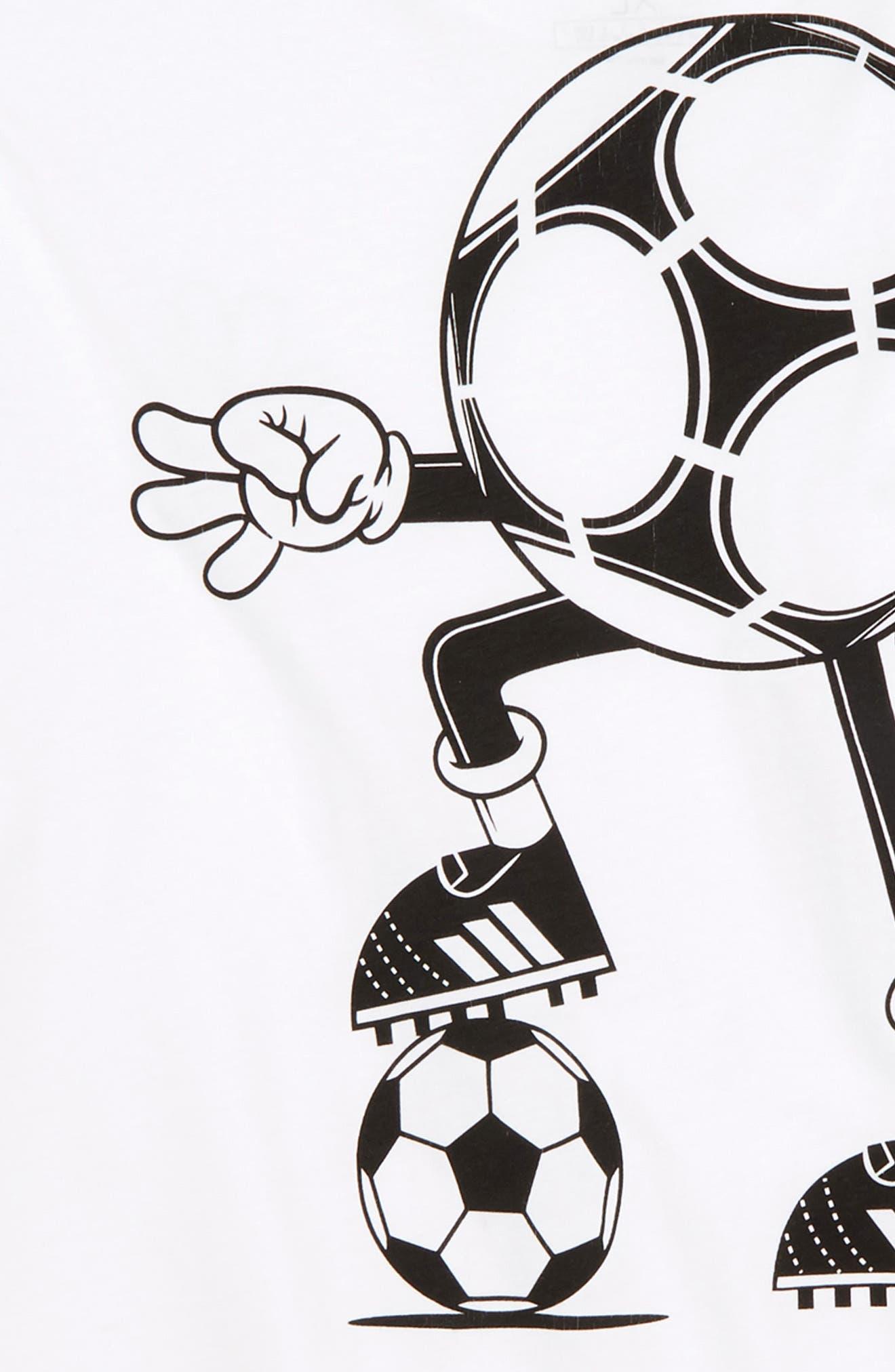 2018 FIFA World Cup Mascot T-Shirt,                             Alternate thumbnail 3, color,                             White