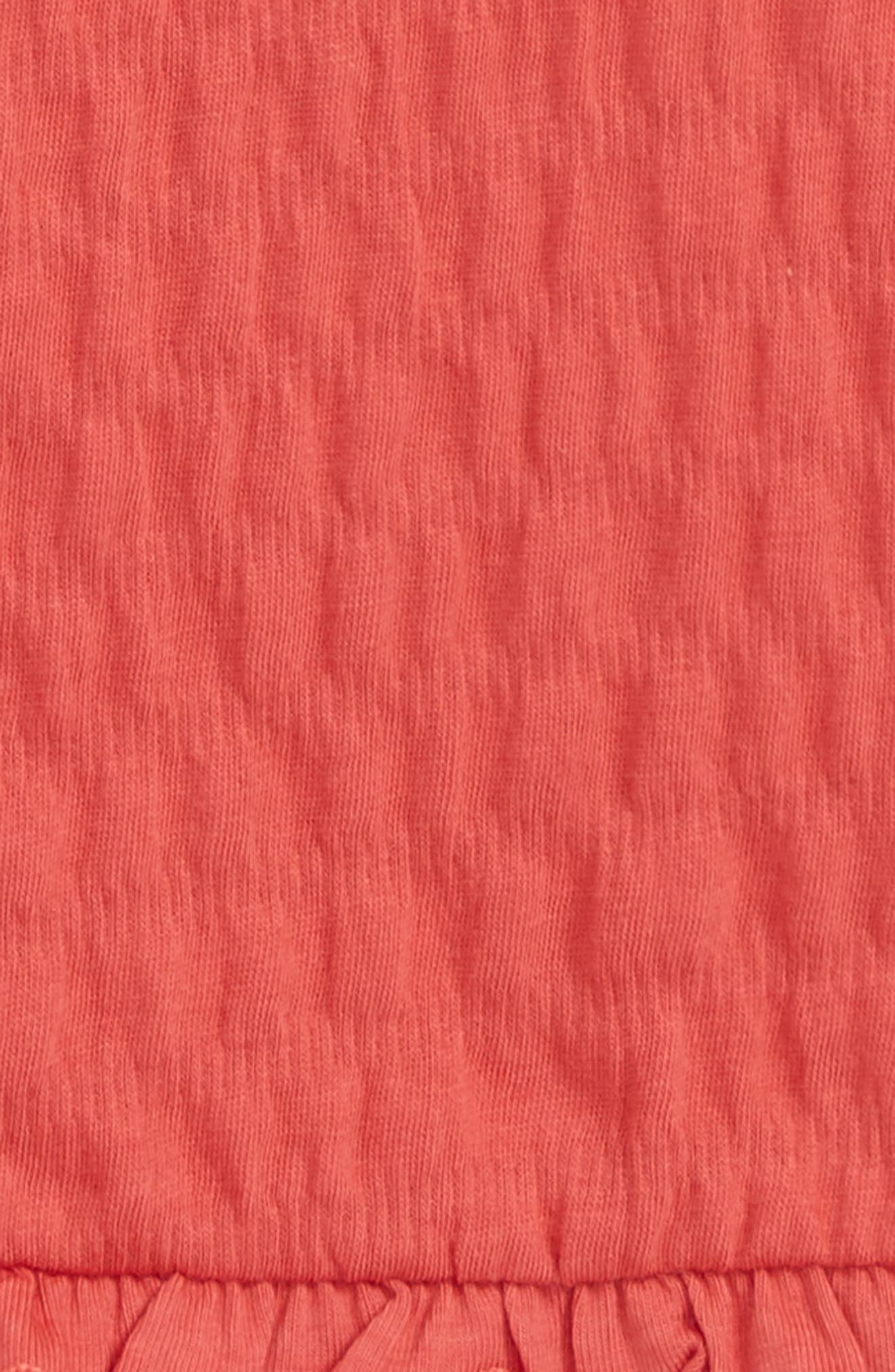 Smocked Tank,                             Alternate thumbnail 2, color,                             Red