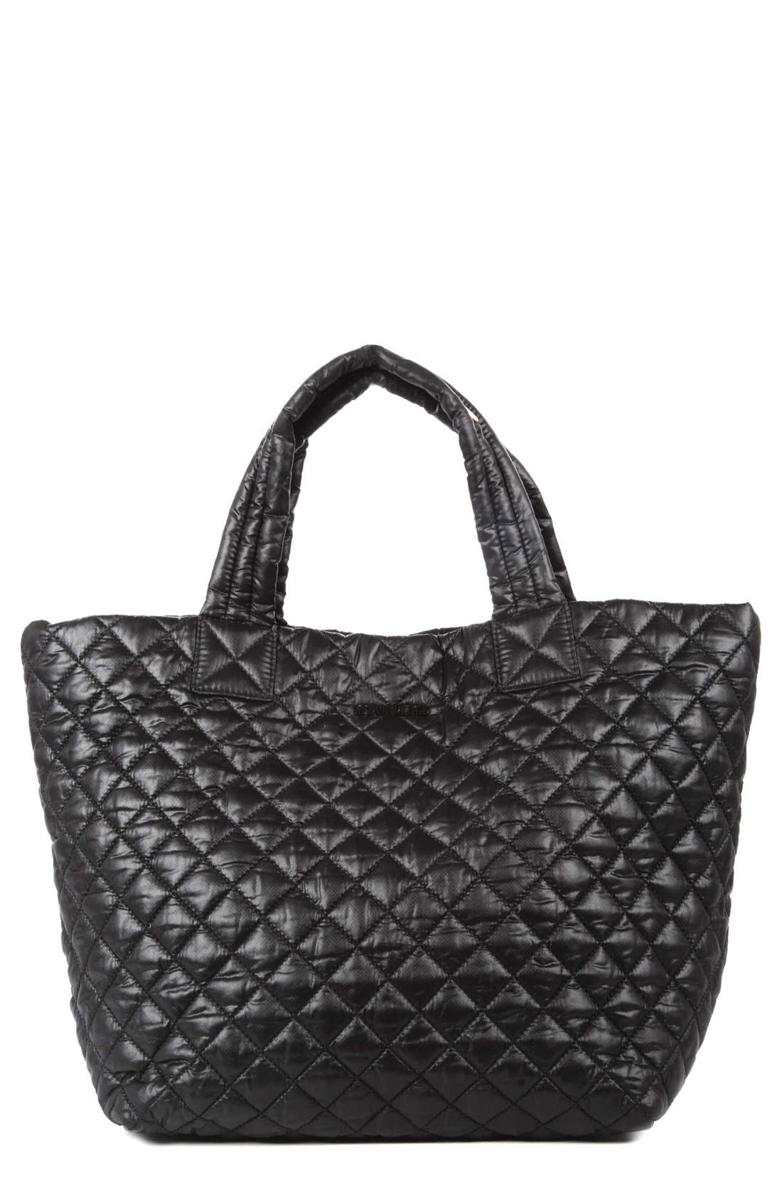 MZ Wallace 'Small Metro' Quilted Oxford Nylon Tote