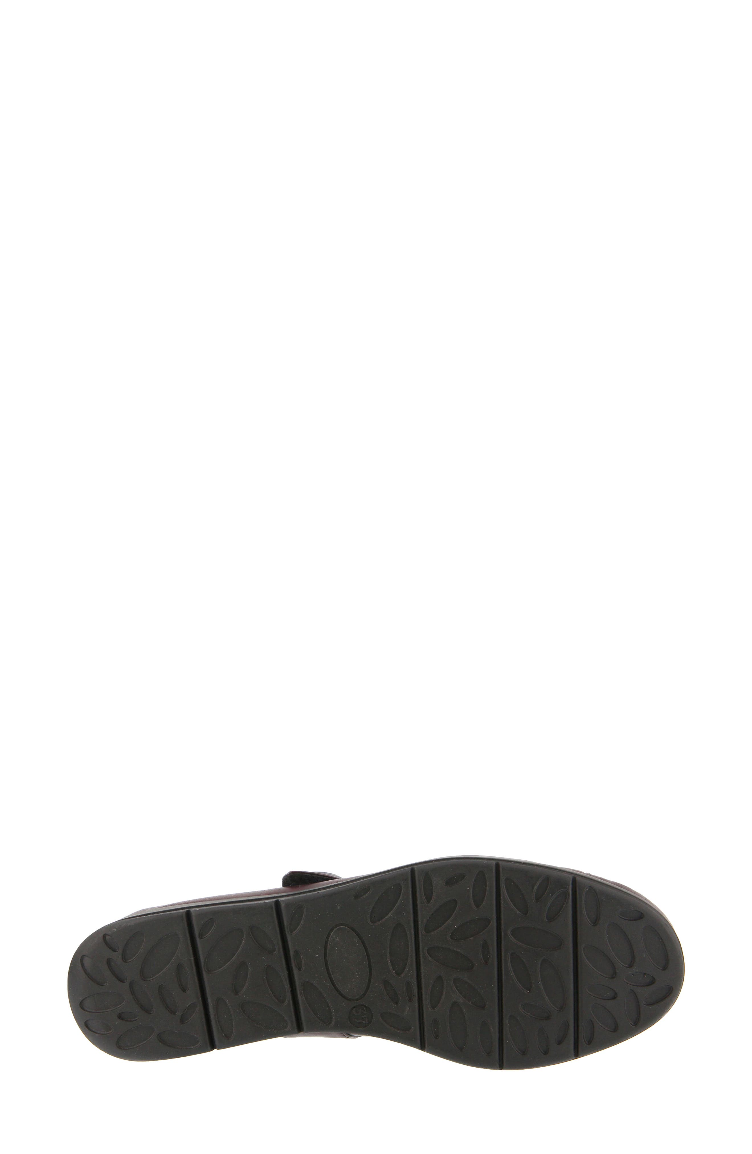 Zemira Flat,                             Alternate thumbnail 4, color,                             Bordeaux Leather