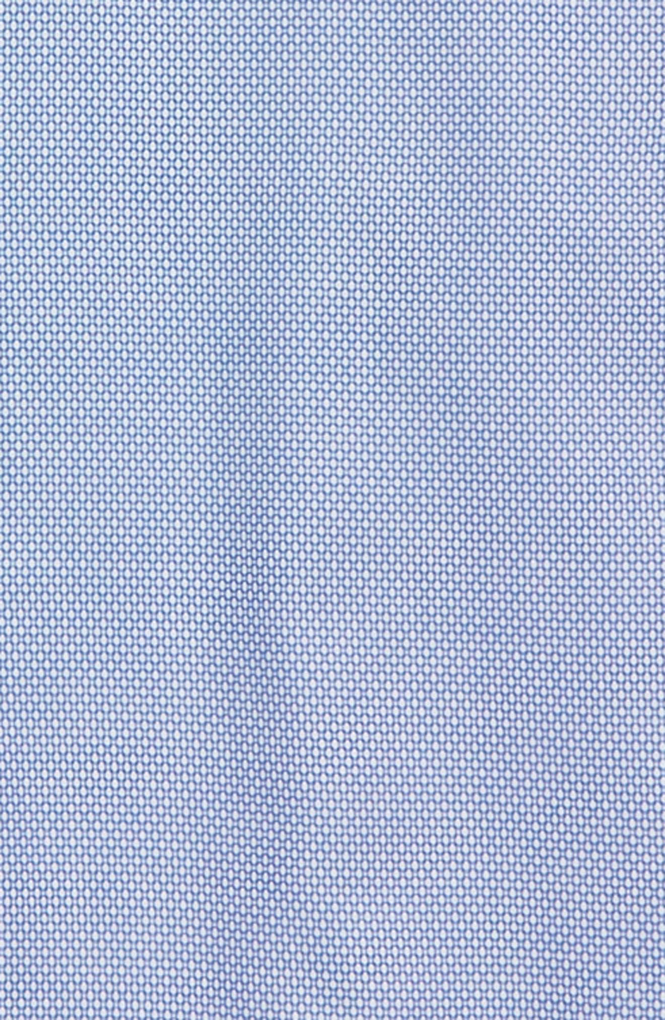 Print Dress Shirt,                             Alternate thumbnail 2, color,                             Blue