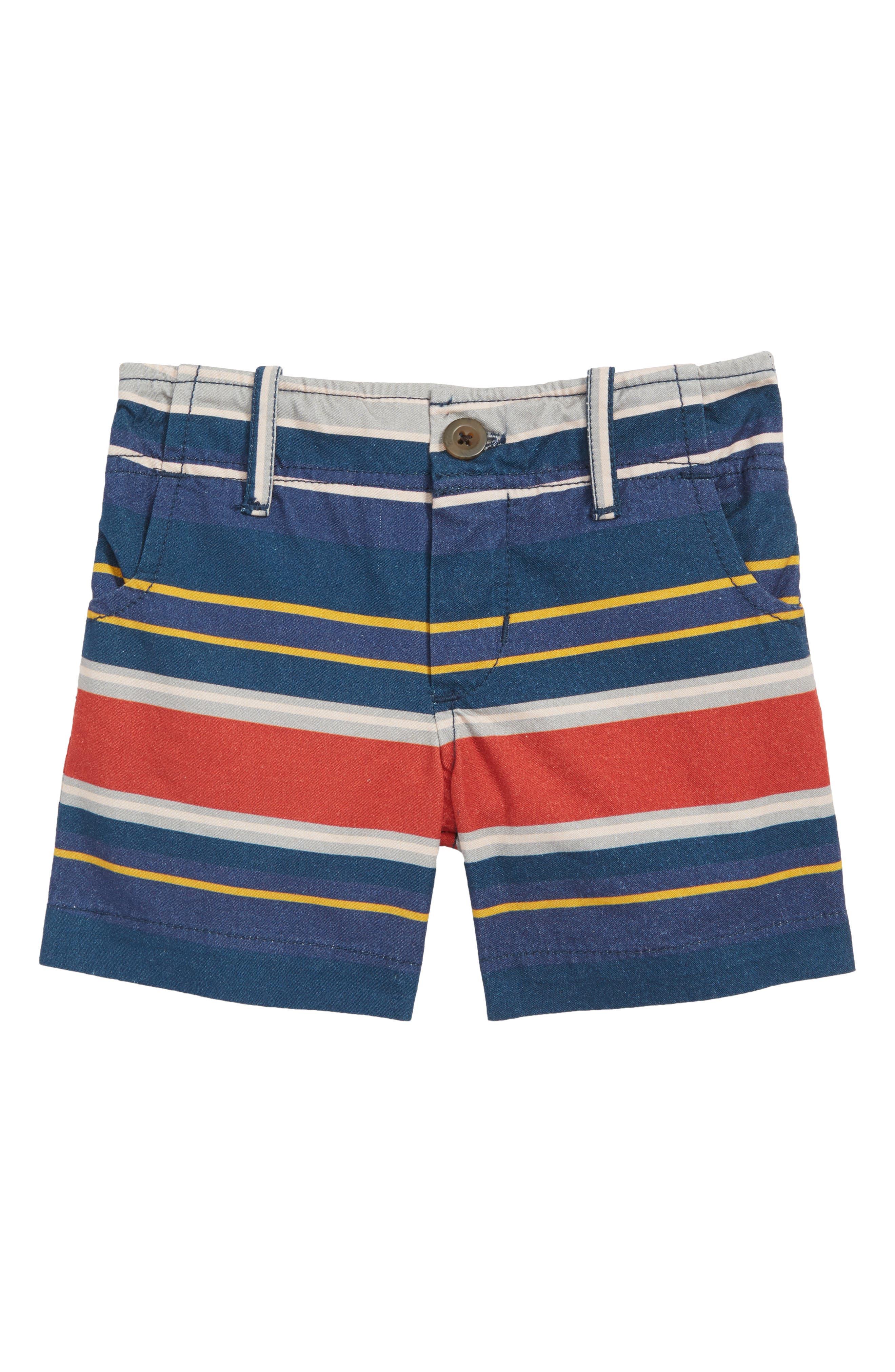 Hudson Stripe Shorts,                         Main,                         color, Navy