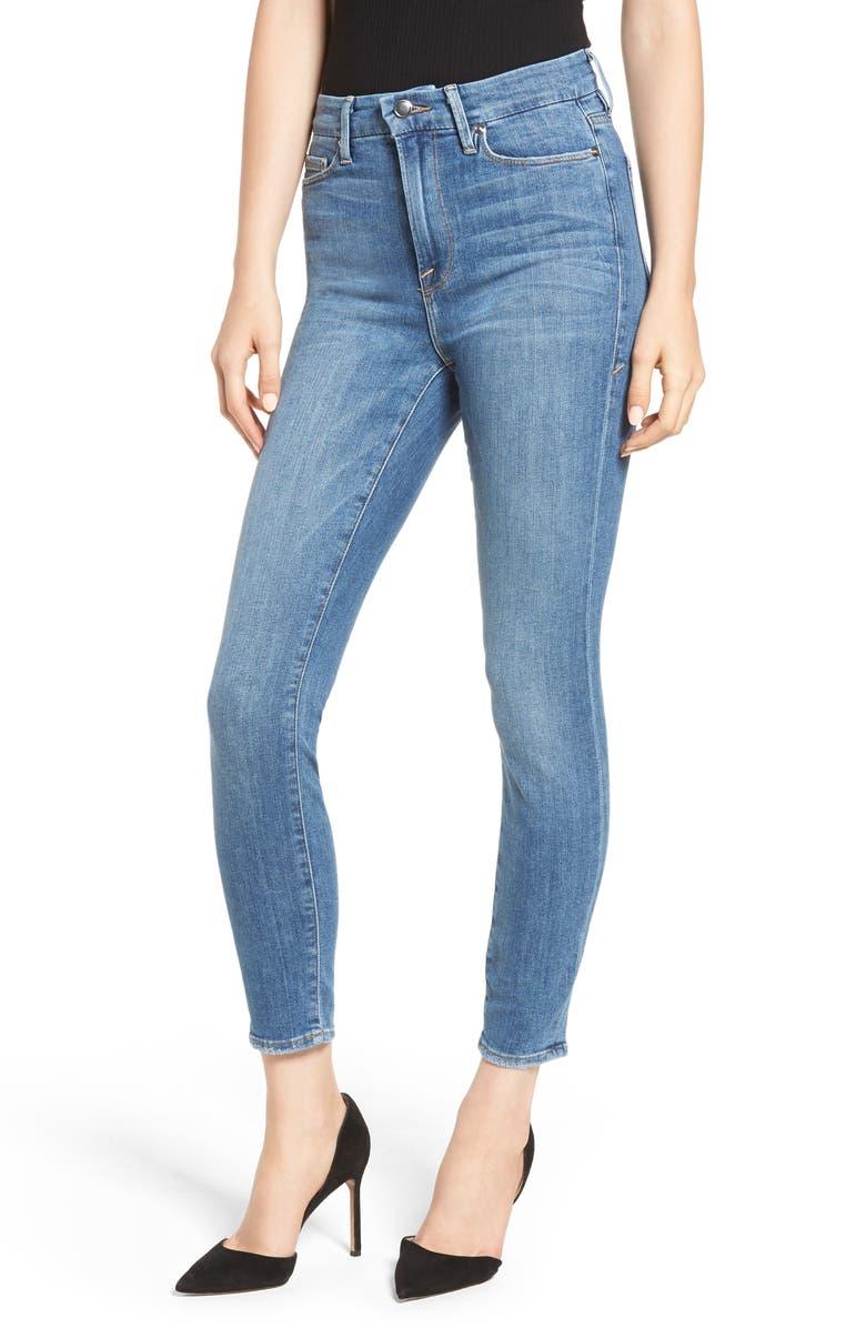 Good Waist High Waist Ankle Skinny Jeans