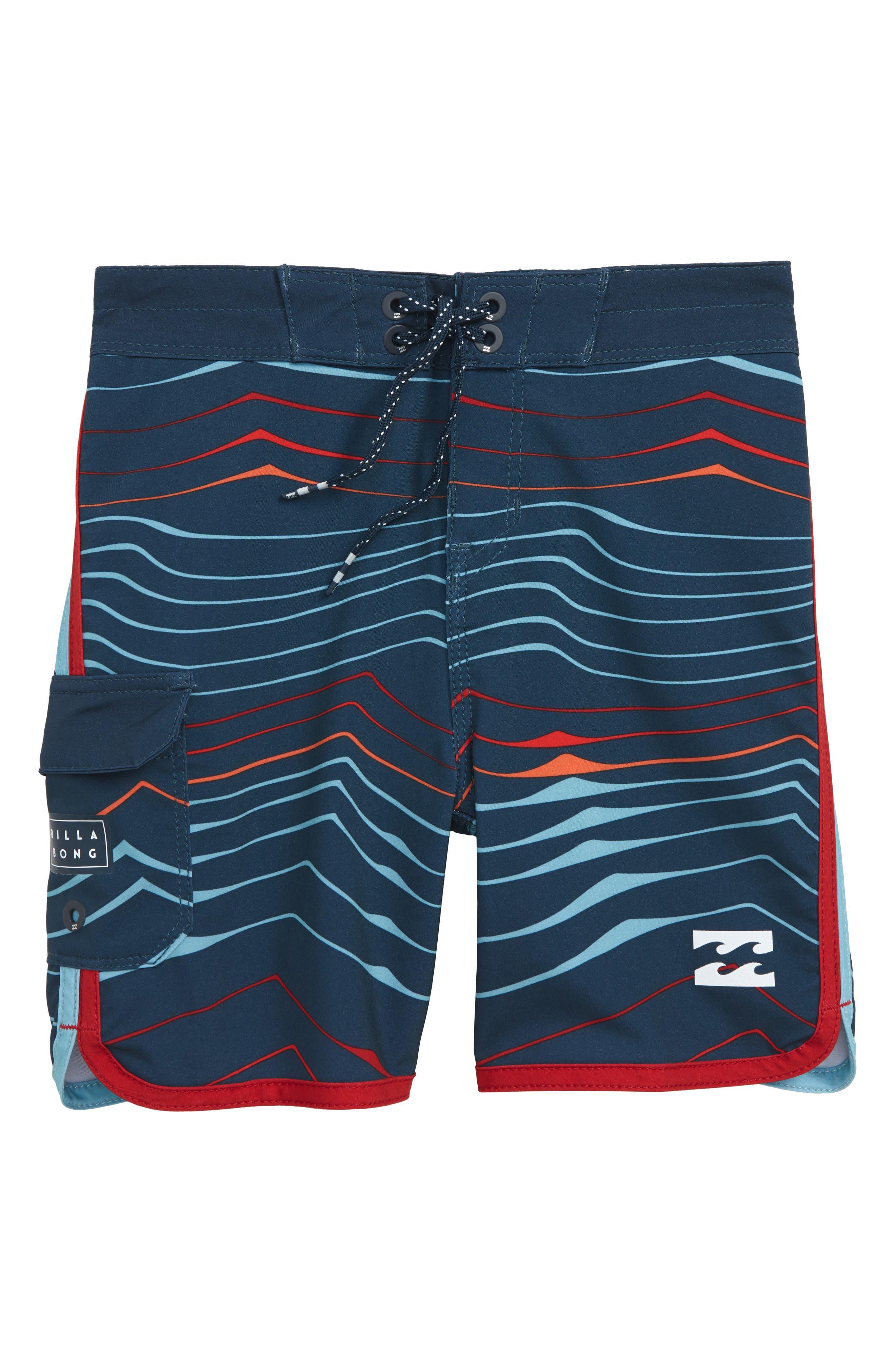 73 X Line Up Board Shorts,                             Main thumbnail 1, color,                             Navy