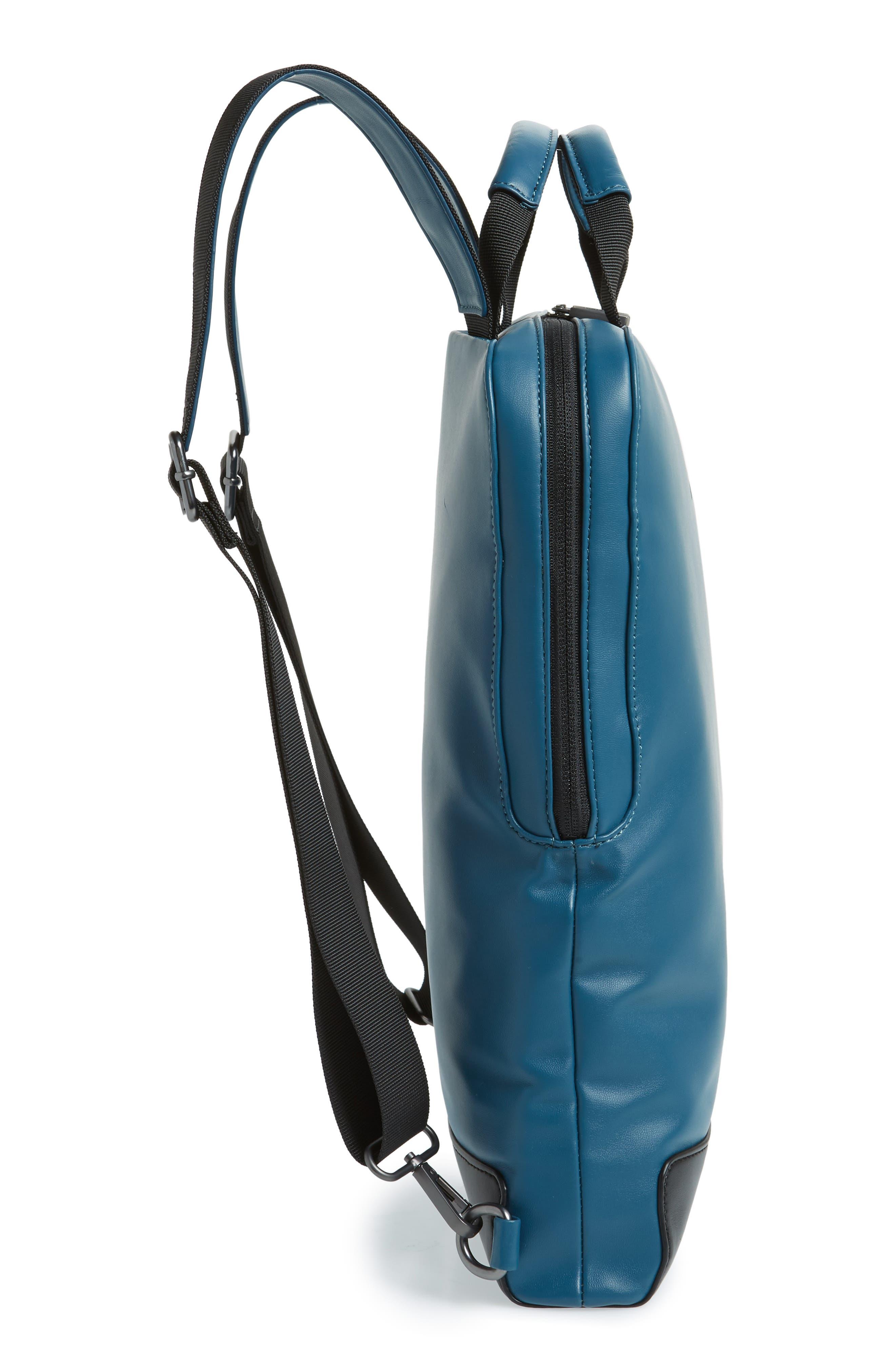 ID Vertical Device Bag,                             Alternate thumbnail 5, color,                             Steel Blue