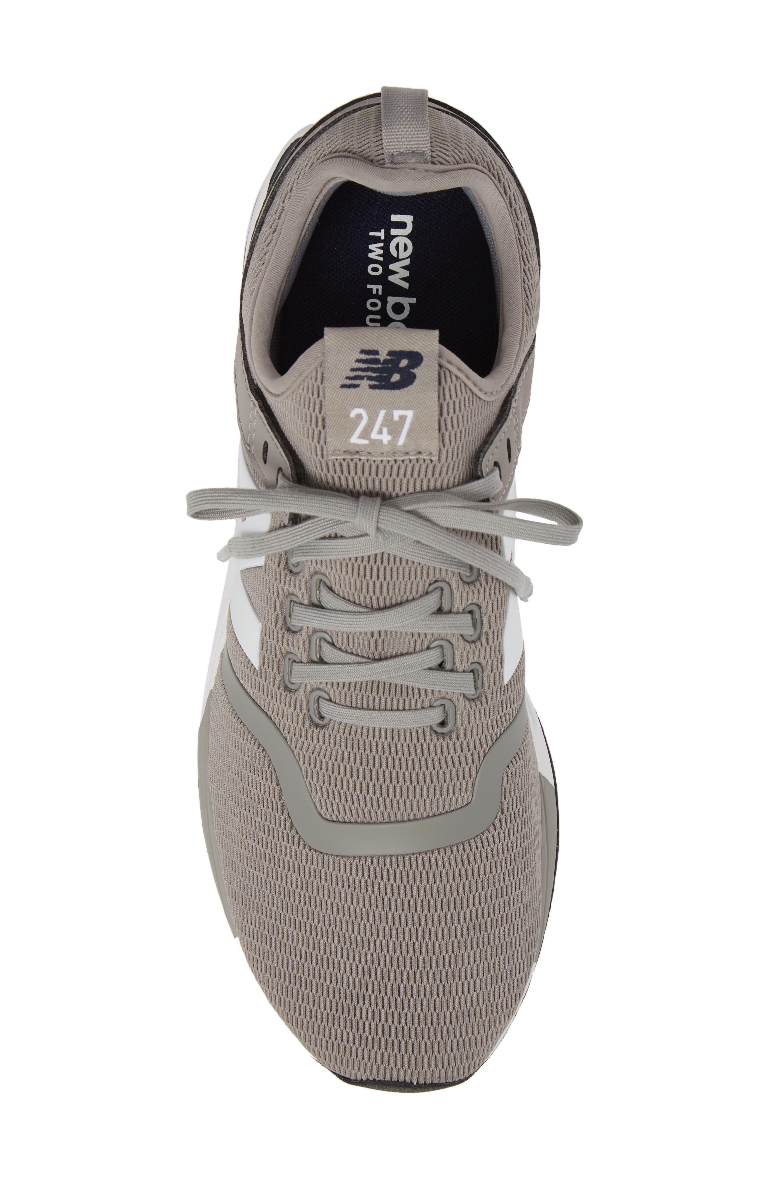 247 Sneaker,                             Alternate thumbnail 5, color,                             Steel