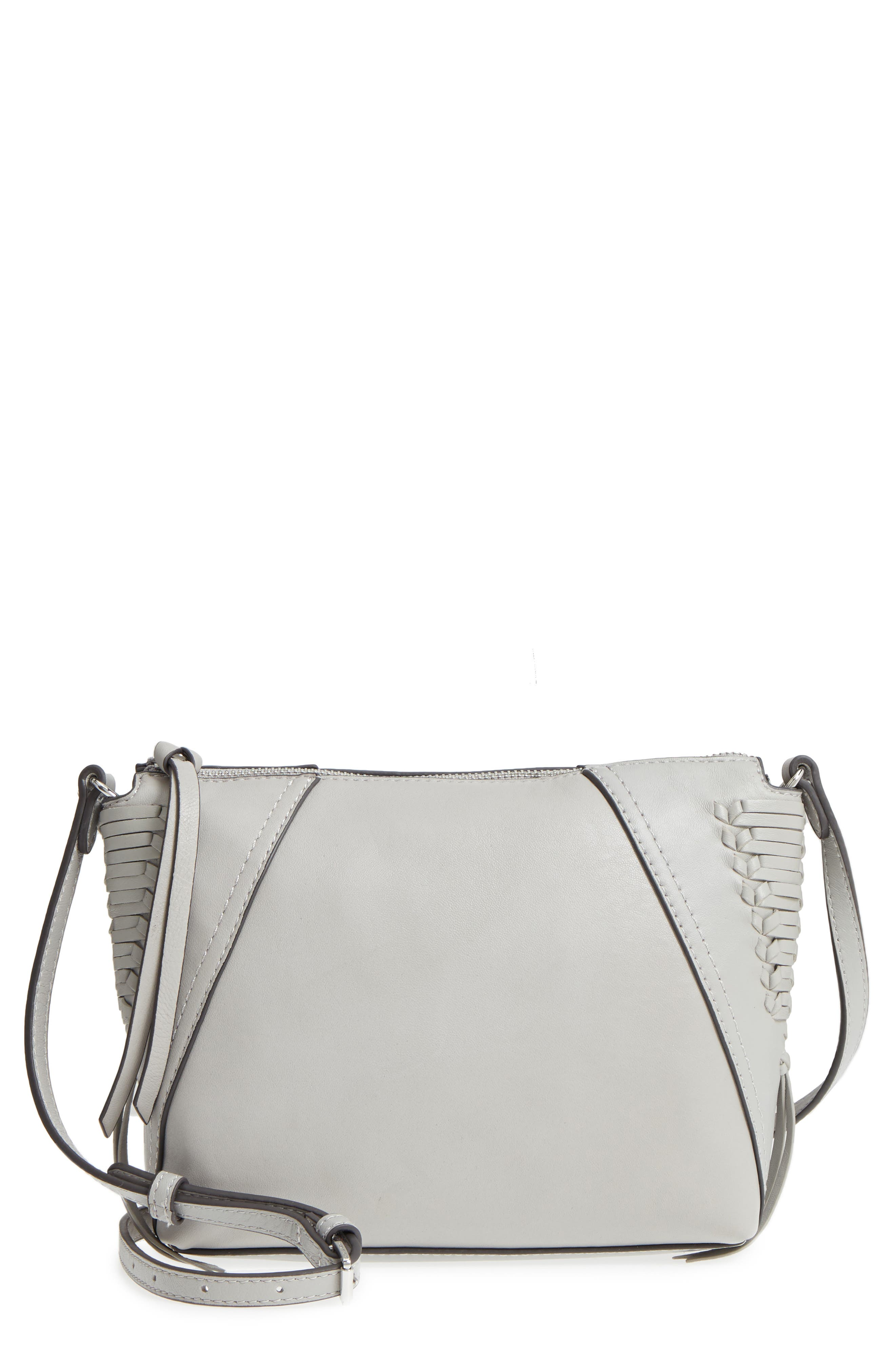 Ilda Leather Crossbody Bag,                             Main thumbnail 1, color,                             Full Steam