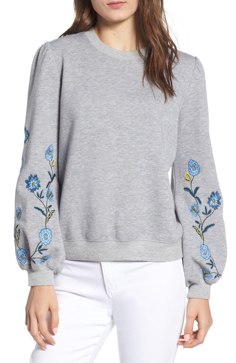 Cinda Embroidered Sweatshirt
