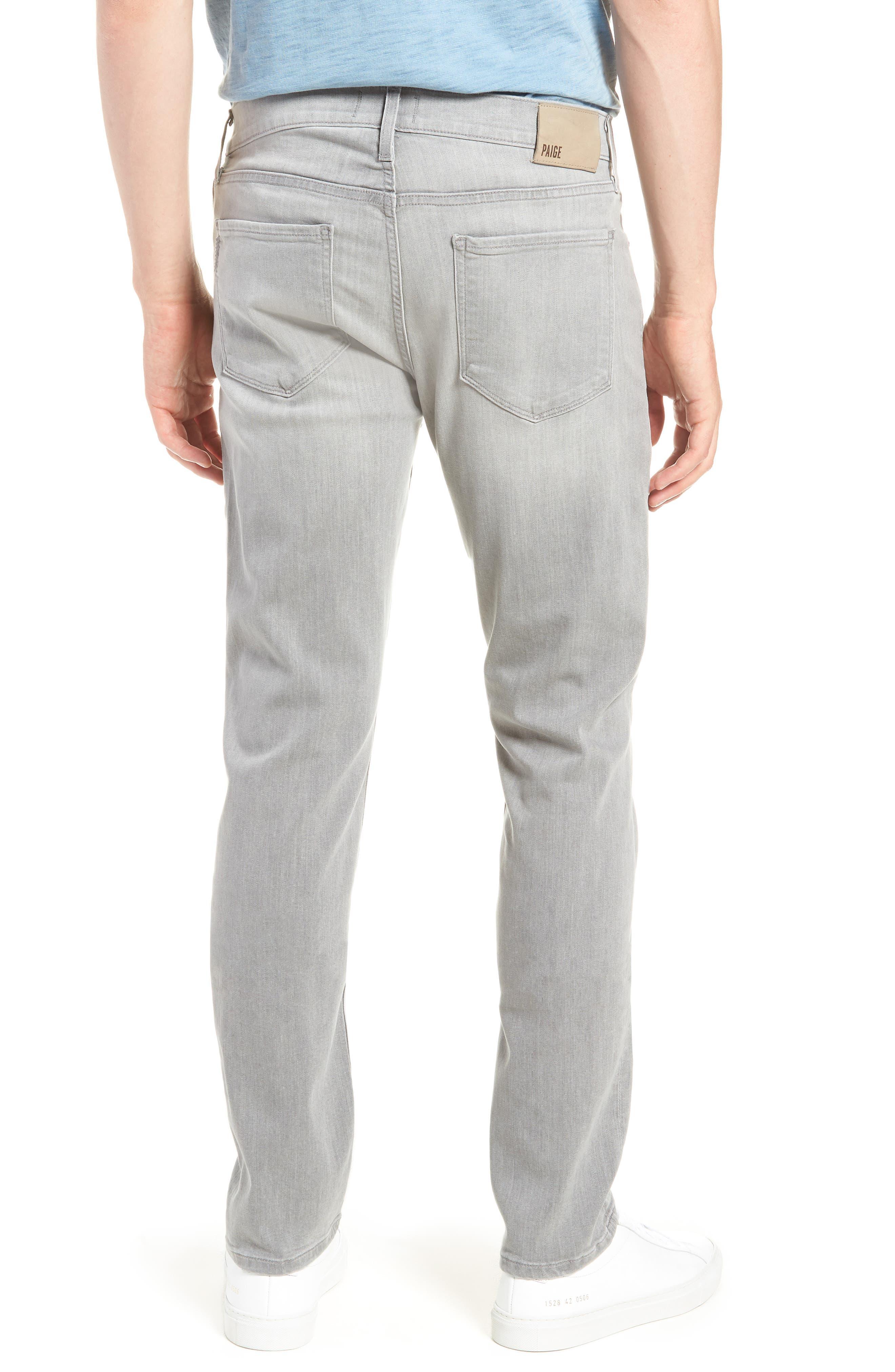 Transcend - Lennox Slim Fit Jeans,                             Alternate thumbnail 2, color,                             Mannor