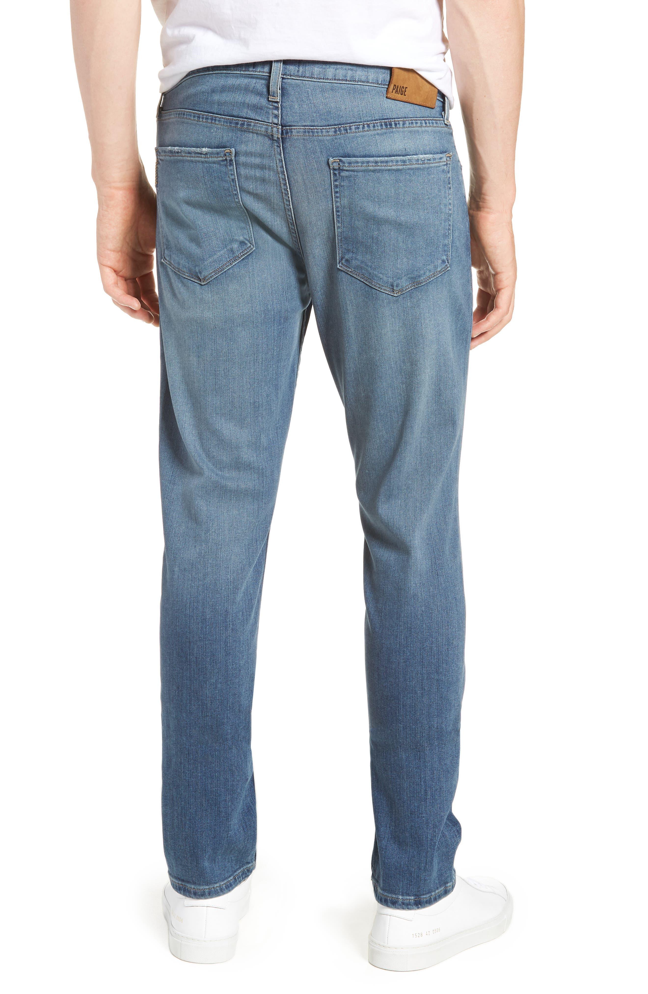 Transcend - Lennox Slim Fit Jeans,                             Alternate thumbnail 2, color,                             Allman