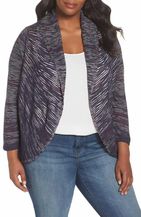 NIC+ZOE Star Crossed Cardigan (Plus Size)