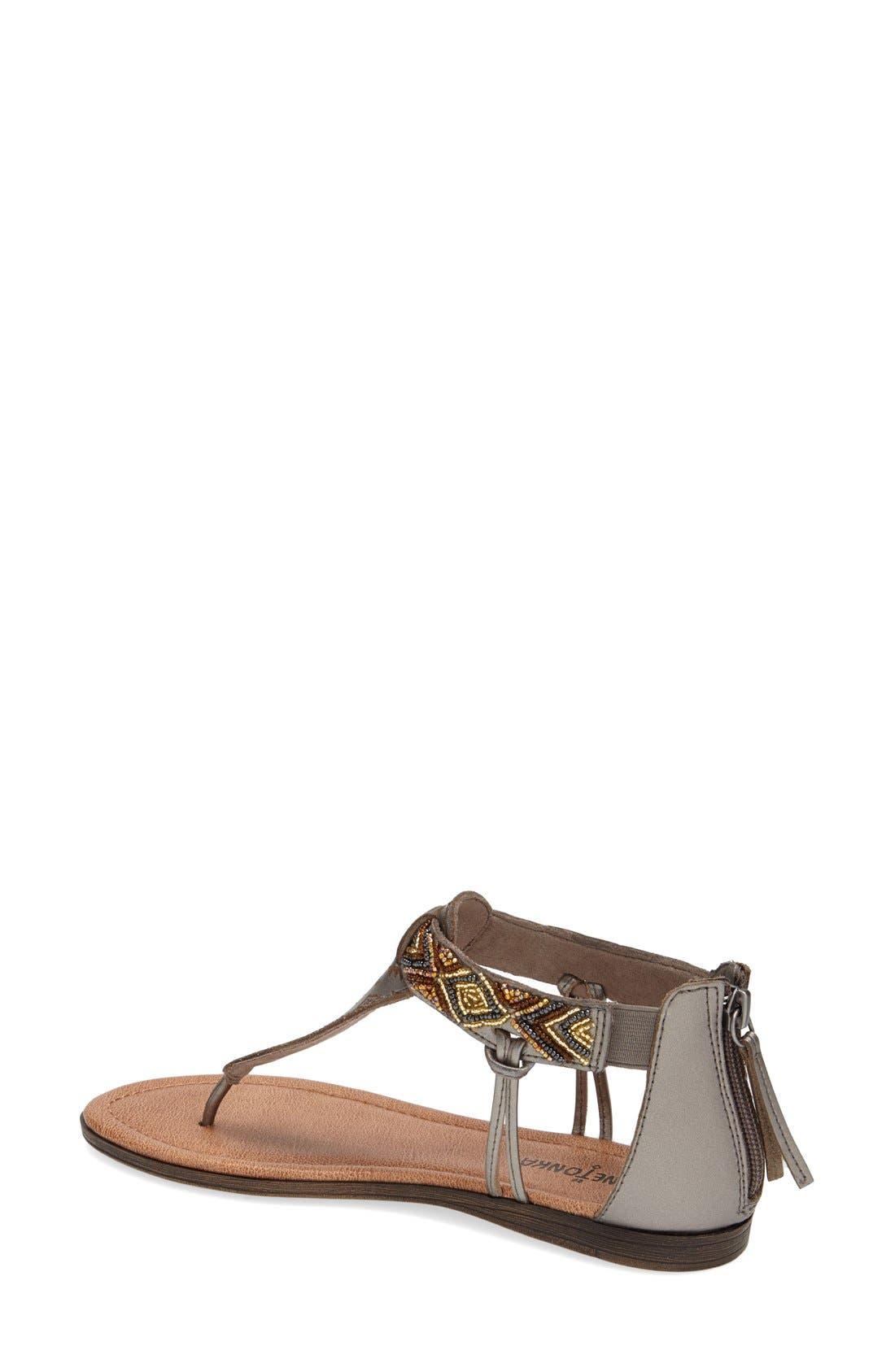 Alternate Image 2  - Minnetonka 'Antigua' Beaded Thong Sandal (Women)
