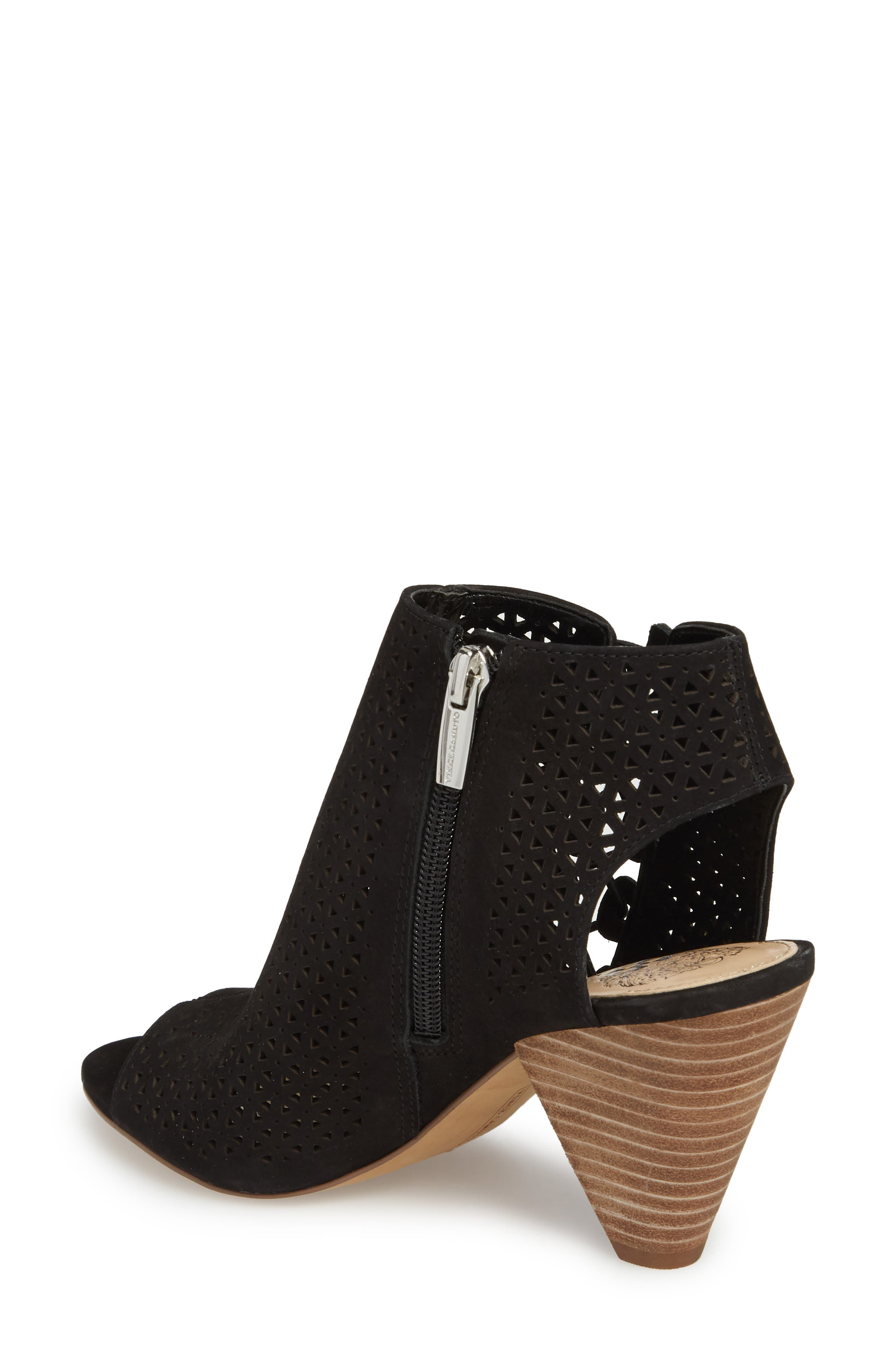 Elison Bootie,                             Alternate thumbnail 2, color,                             Black Leather
