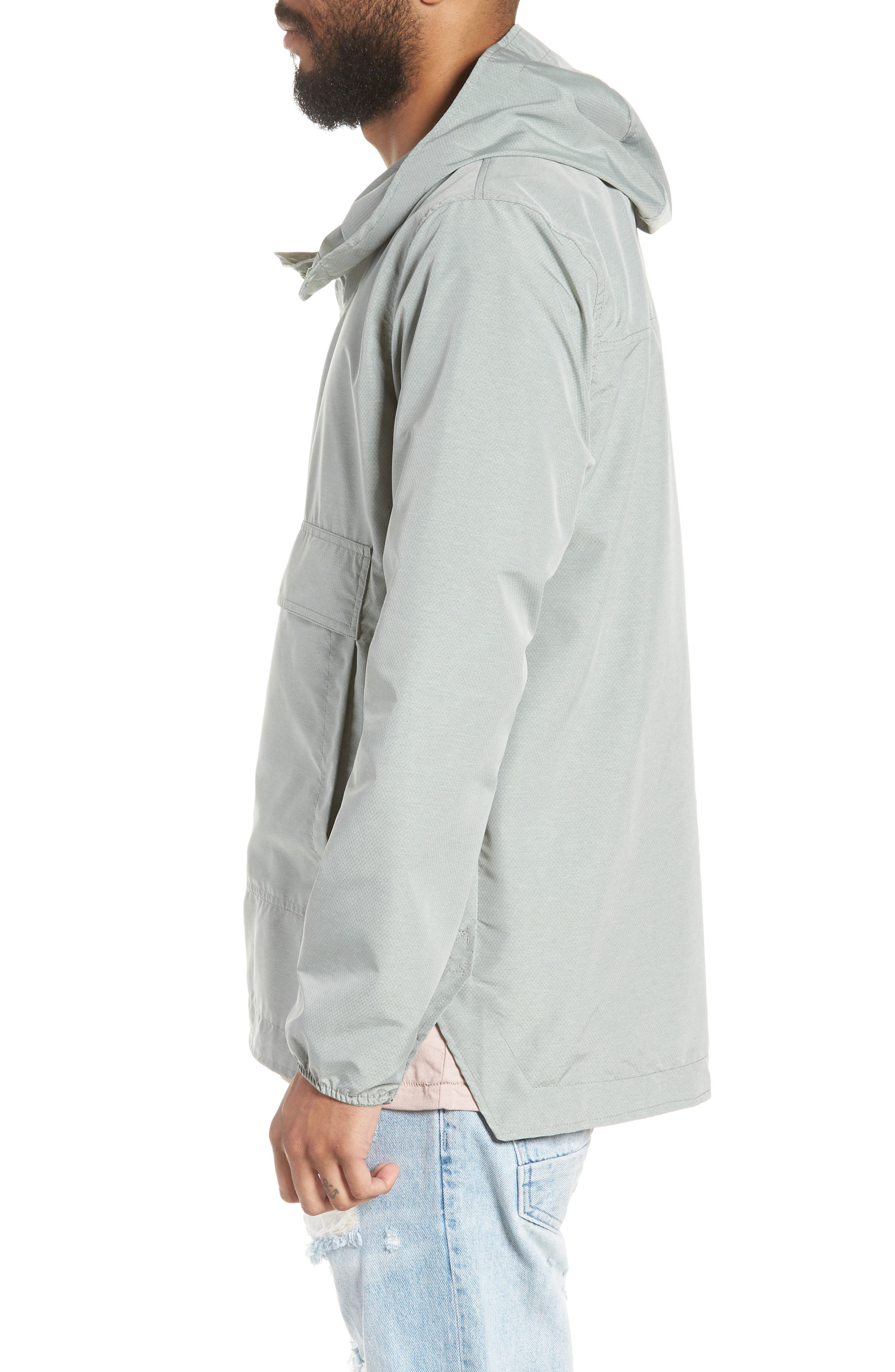 Voyage Anorak,                             Alternate thumbnail 3, color,                             Shadow Crosshatch / Black