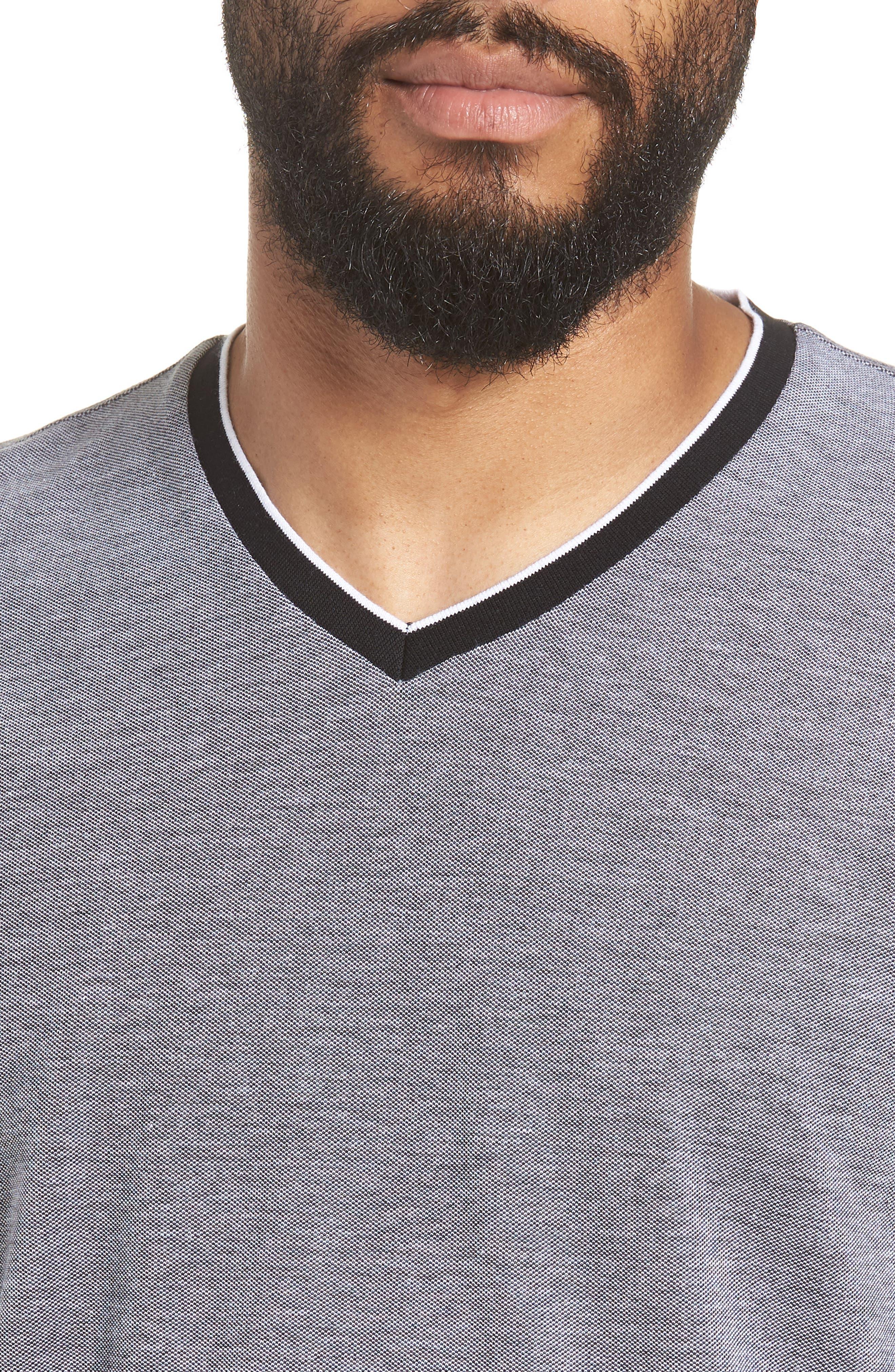 TIlson Regular Fit T-Shirt,                             Alternate thumbnail 4, color,                             Black