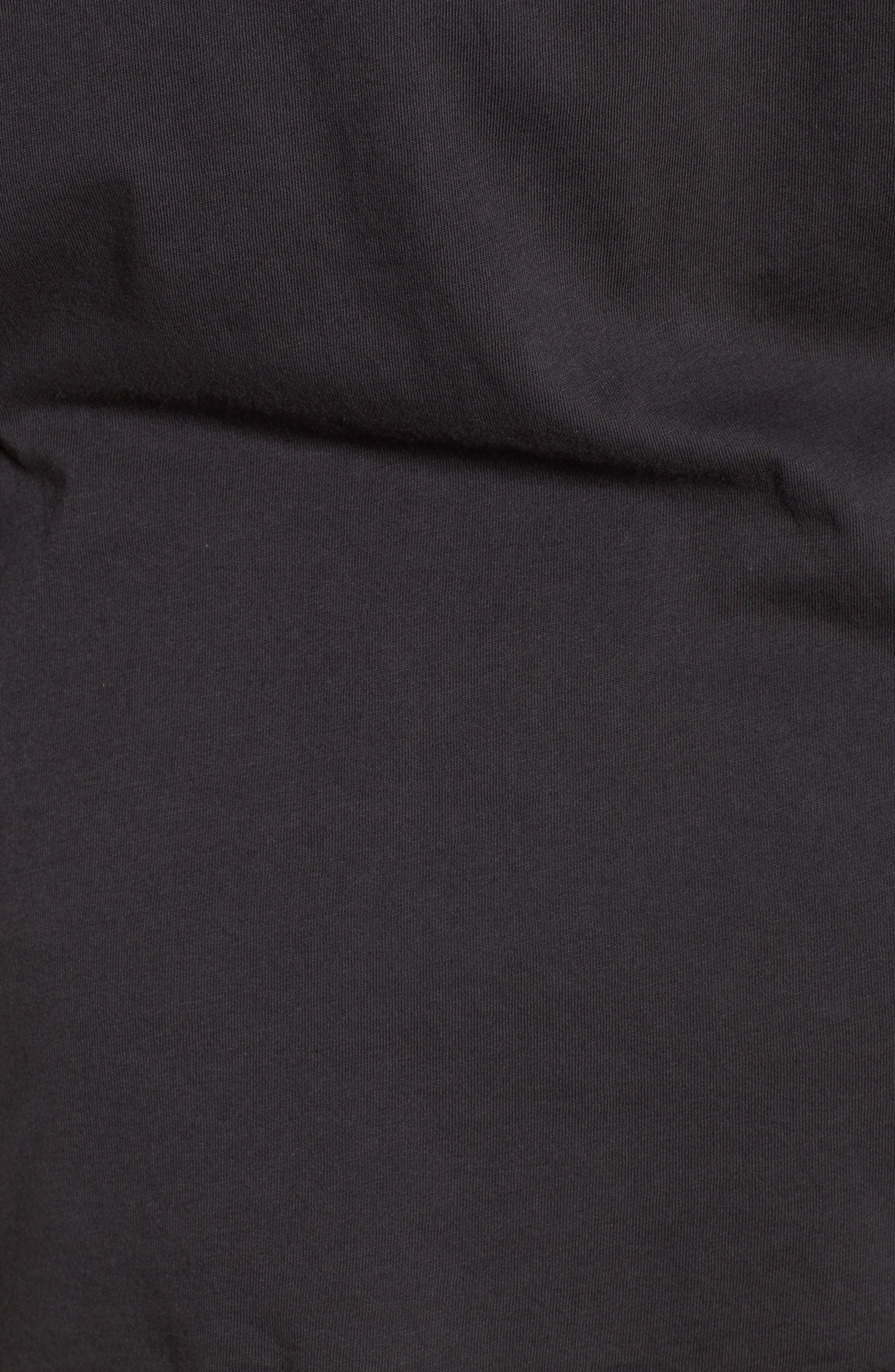 Vintage Wettie Heritage T-Shirt,                             Alternate thumbnail 5, color,                             Charcoal