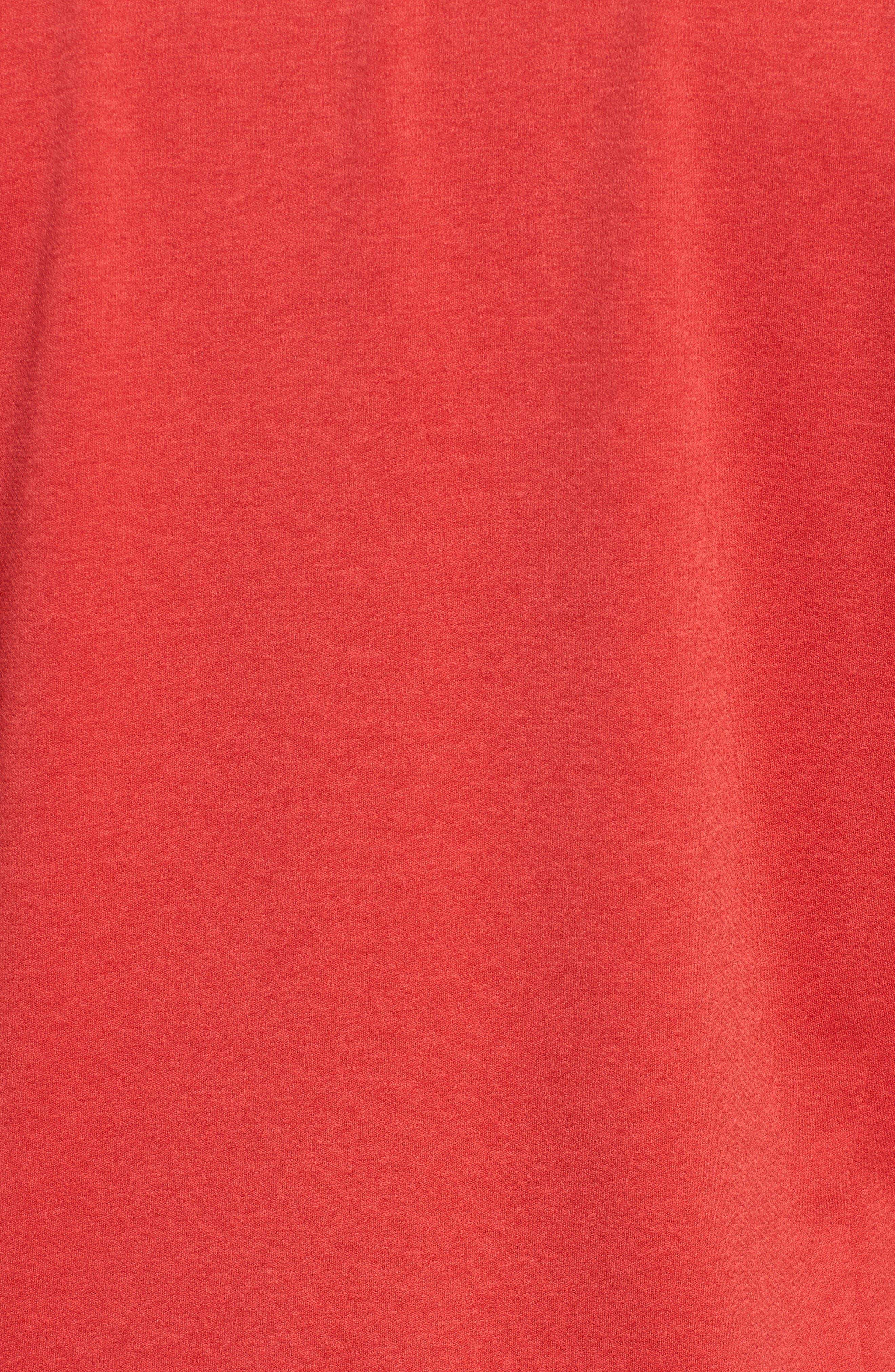 Performance Quarter Zip Pullover,                             Alternate thumbnail 5, color,                             Cuckoo