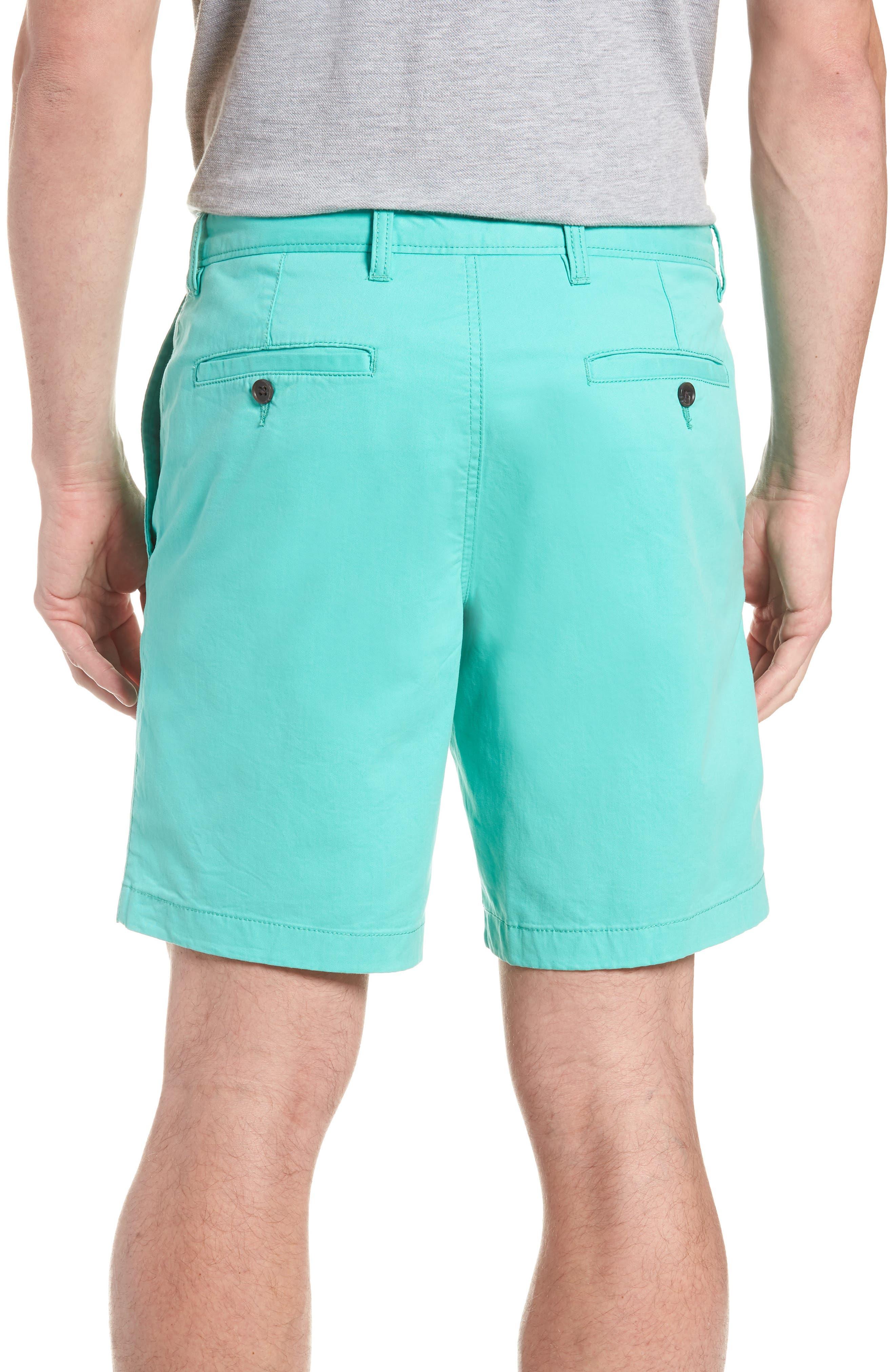 Ballard Slim Fit Stretch Chino 9-Inch Shorts,                             Alternate thumbnail 2, color,                             Green Largo