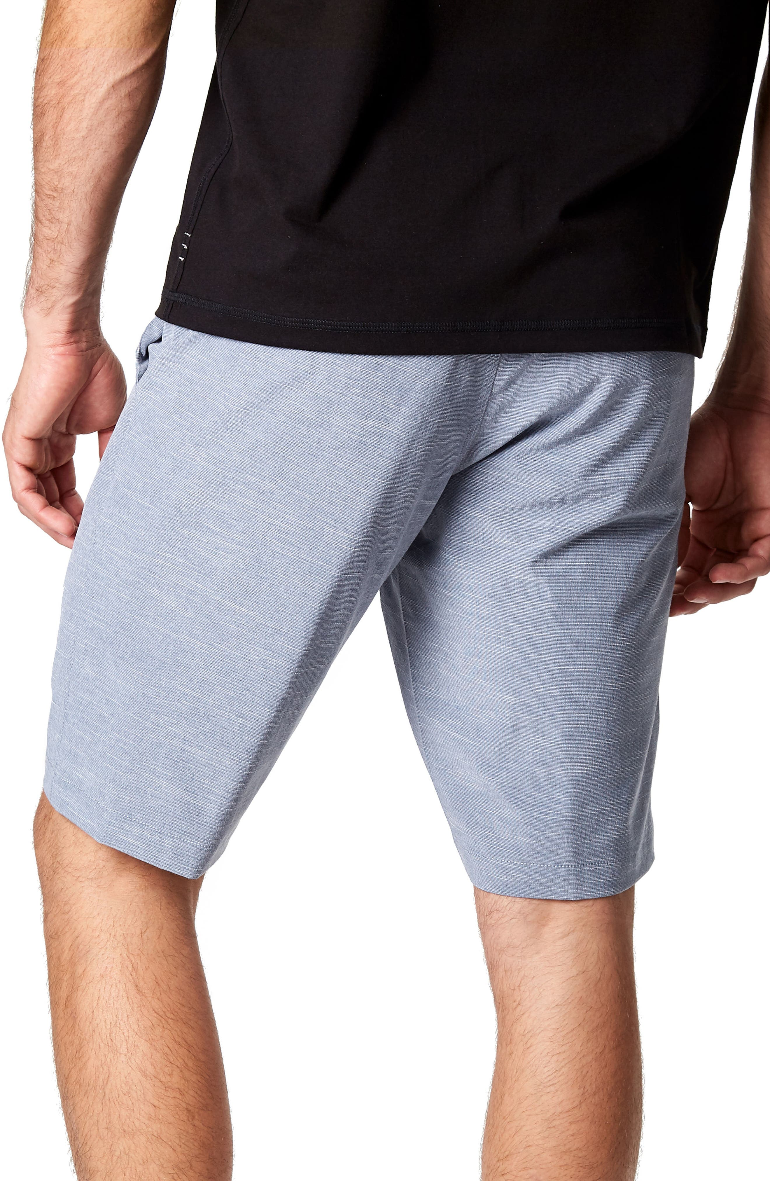 Existence Stretch Shorts,                             Alternate thumbnail 2, color,                             Slate