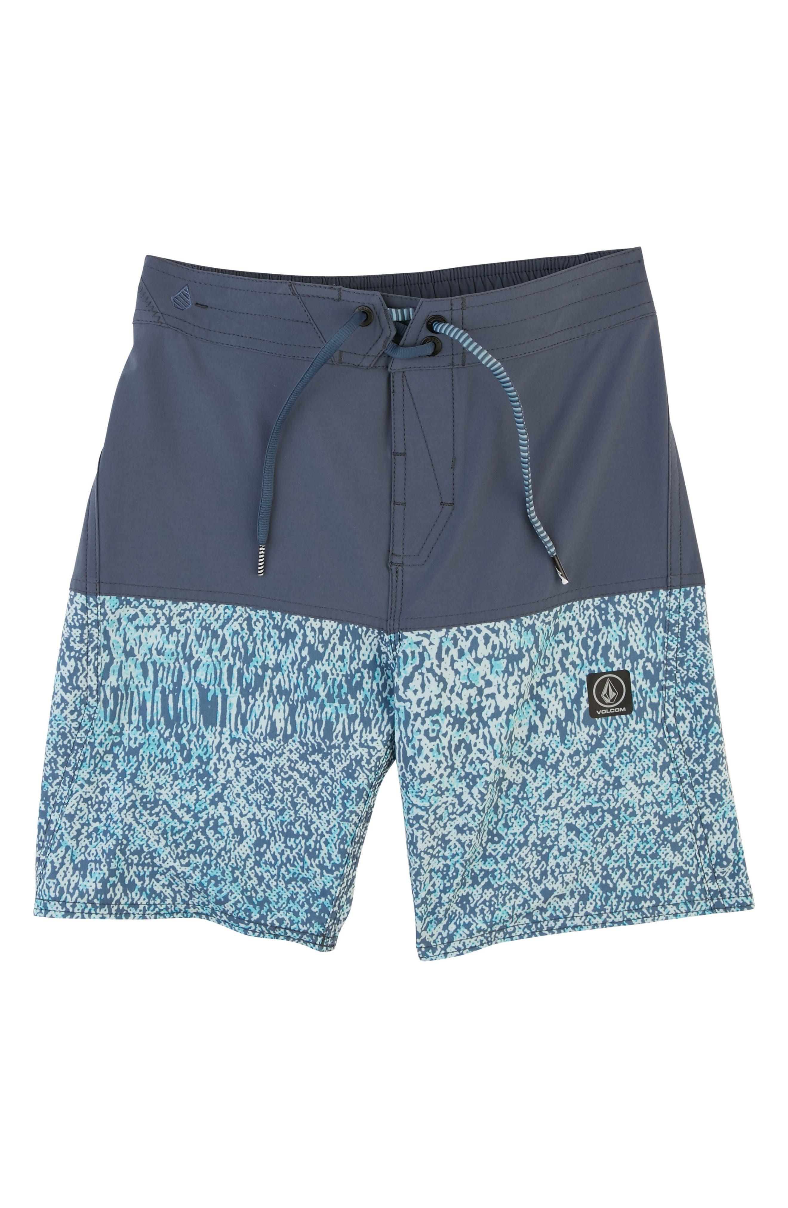 Vibes Board Shorts,                             Main thumbnail 1, color,                             Deep Blue