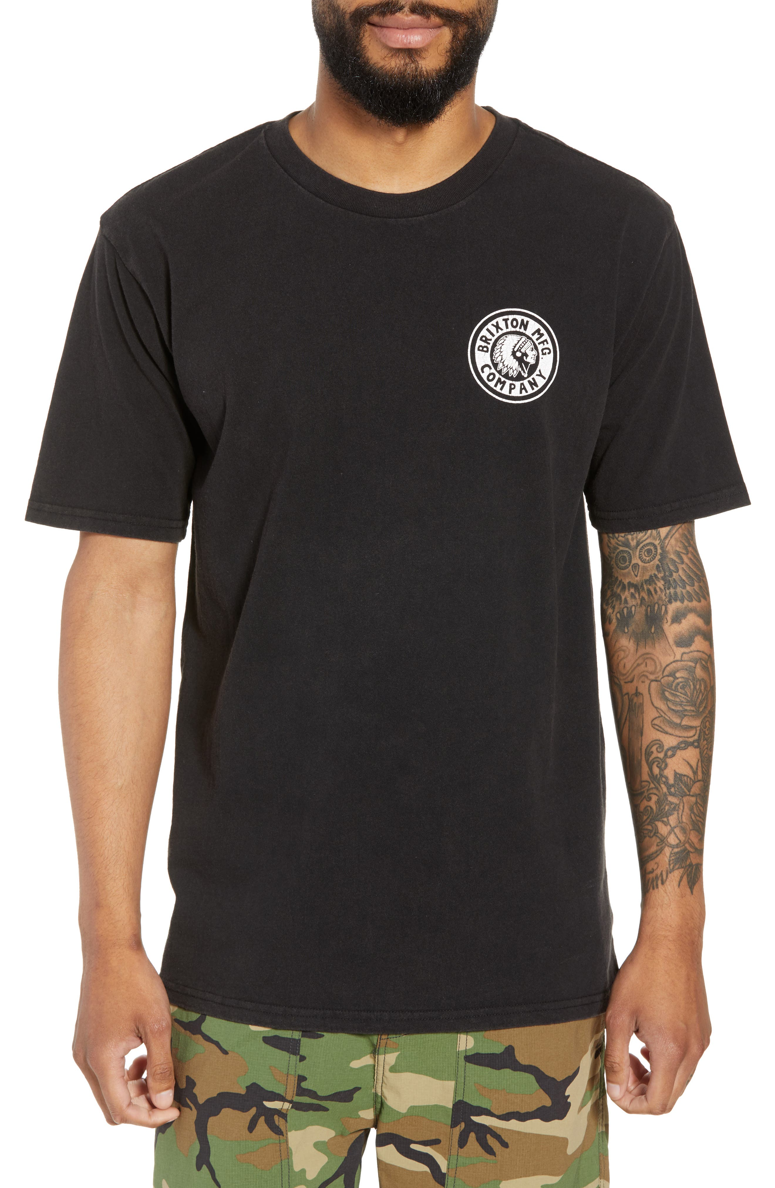 Rival II Graphic T-Shirt,                             Main thumbnail 1, color,                             Black/ White/ White
