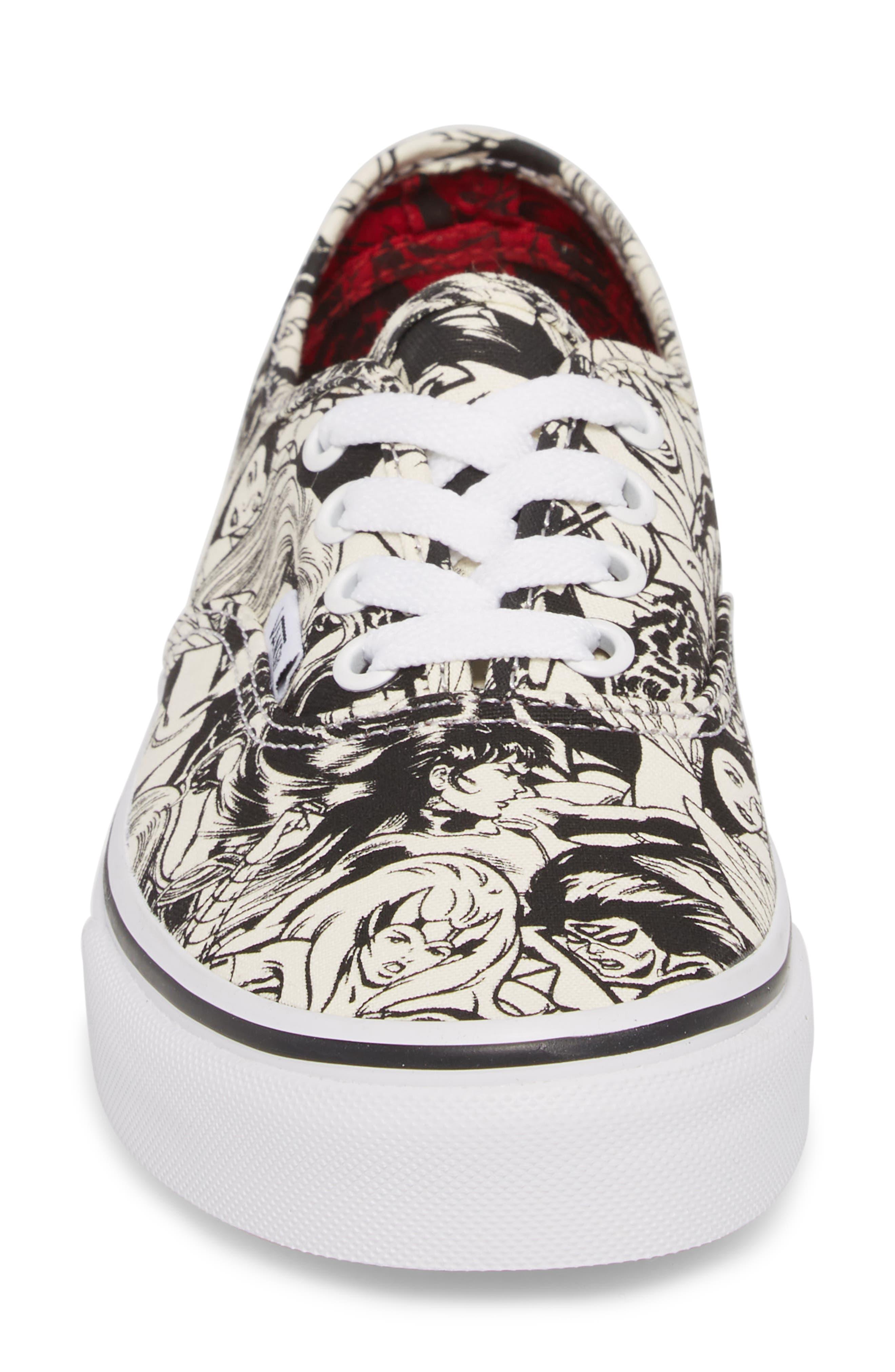 x Marvel<sup>®</sup><sup>®</sup> Sneaker,                             Alternate thumbnail 4, color,                             Marvel Multi/ Women