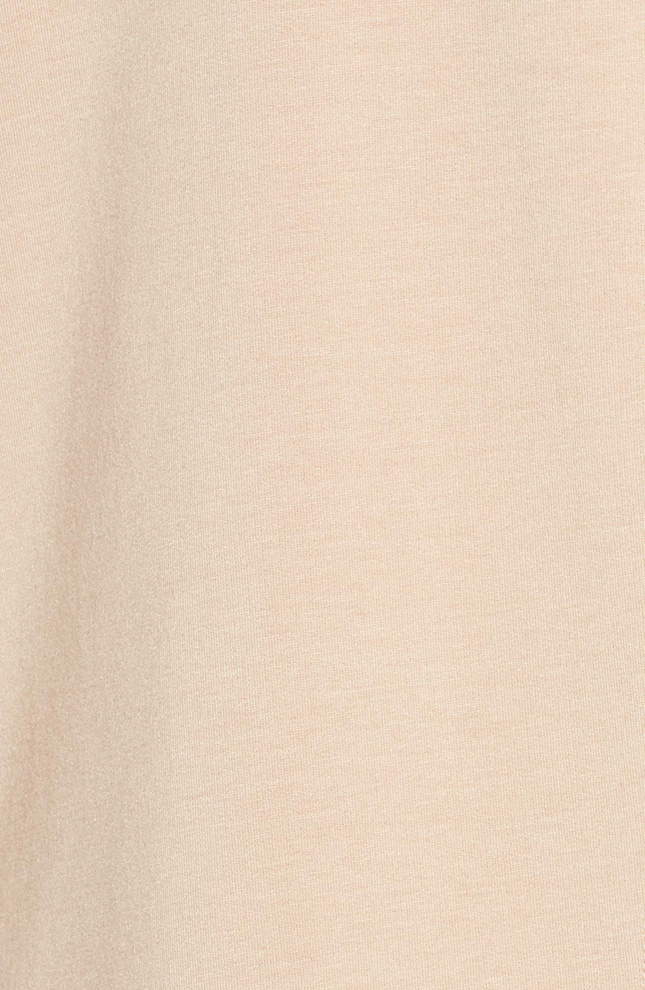 Love & Fleece Split-Back Hooded Cardigan,                             Alternate thumbnail 6, color,                             Texas Taupe