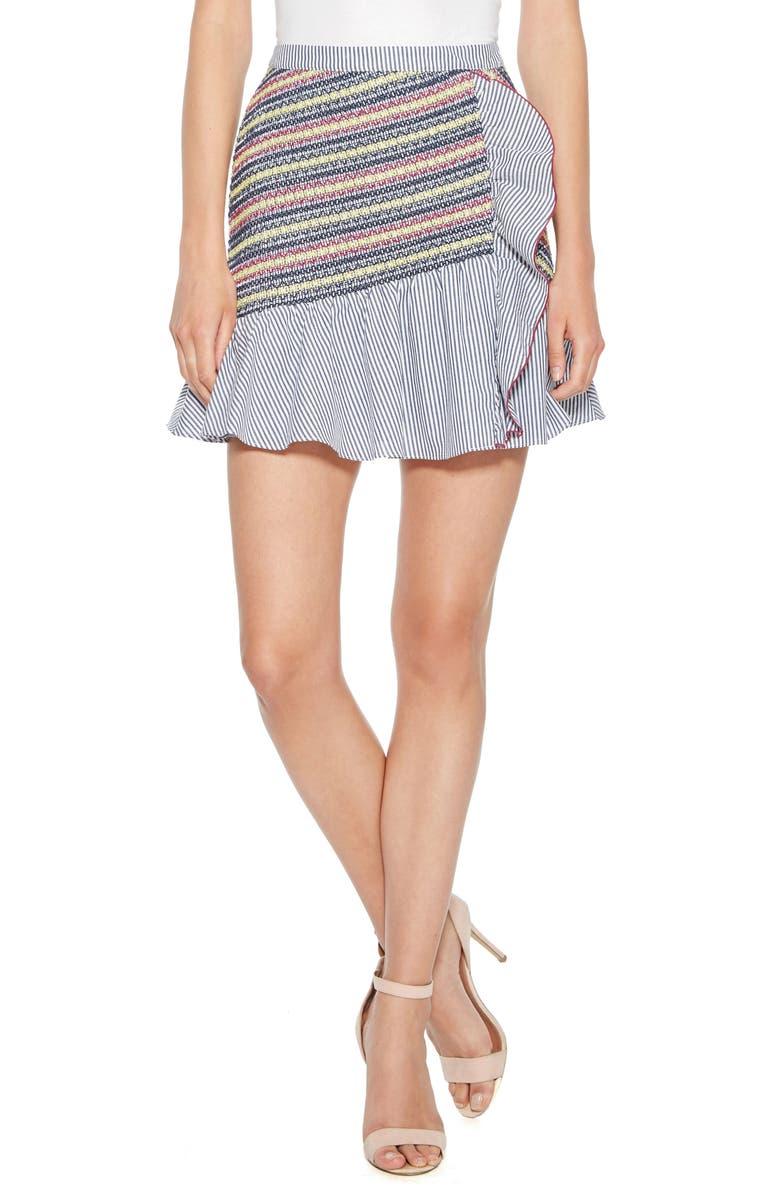 Jordan Stripe Miniskirt