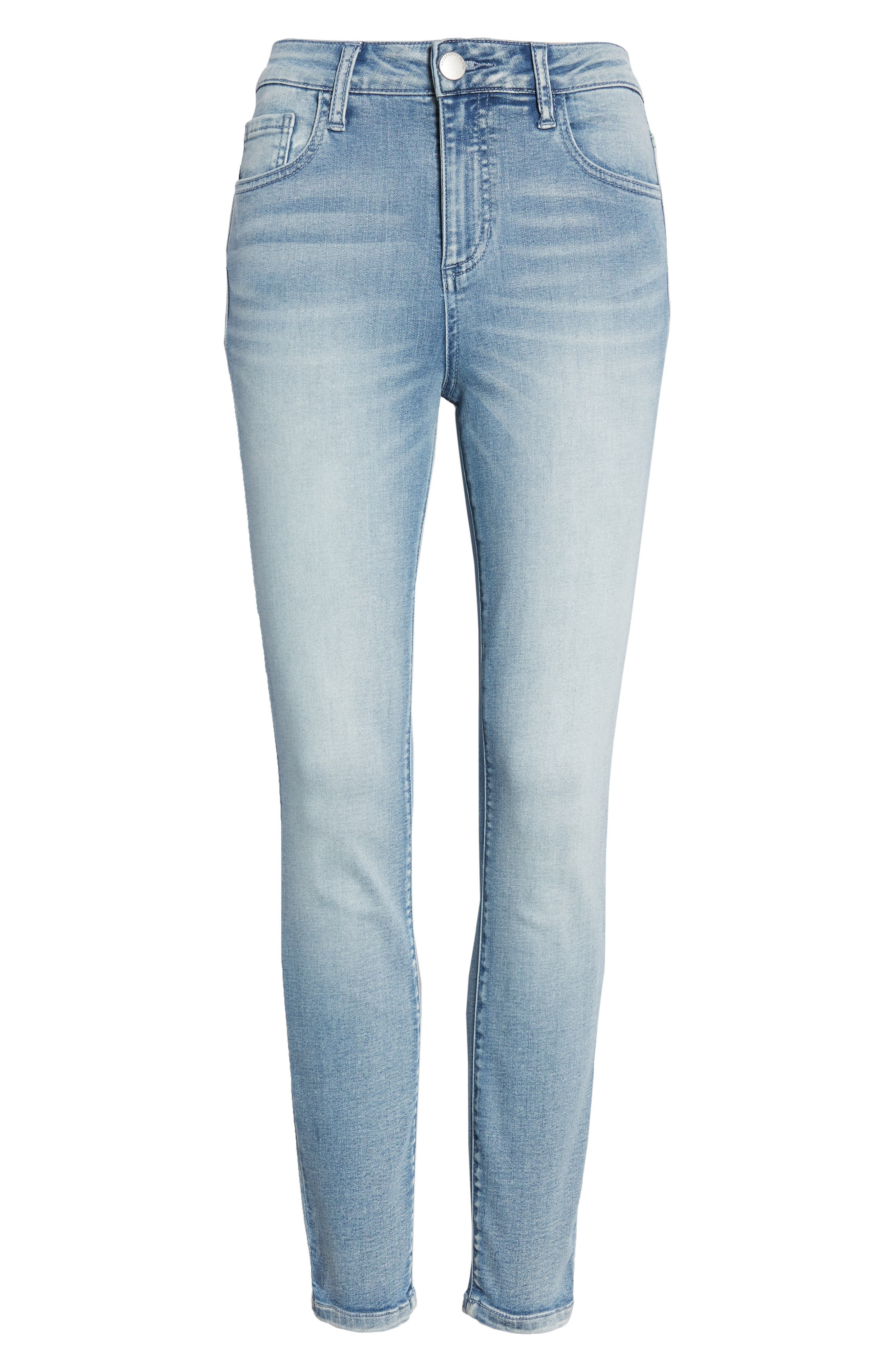 Ankle Skinny Jeans,                             Alternate thumbnail 7, color,                             Justice