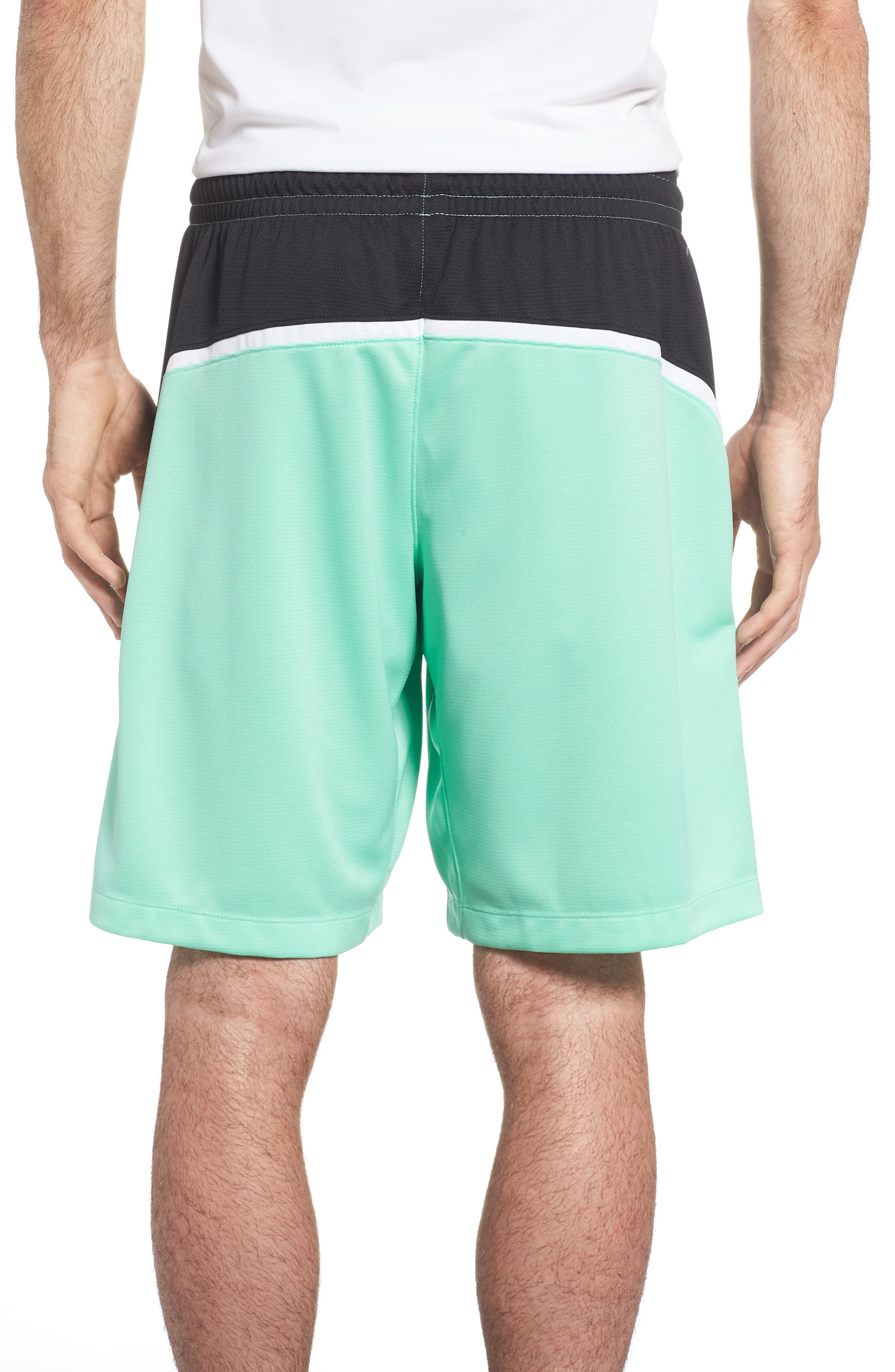 Jordan Dry Flight Shorts,                             Alternate thumbnail 2, color,                             Emerald Rise/ Black/ White
