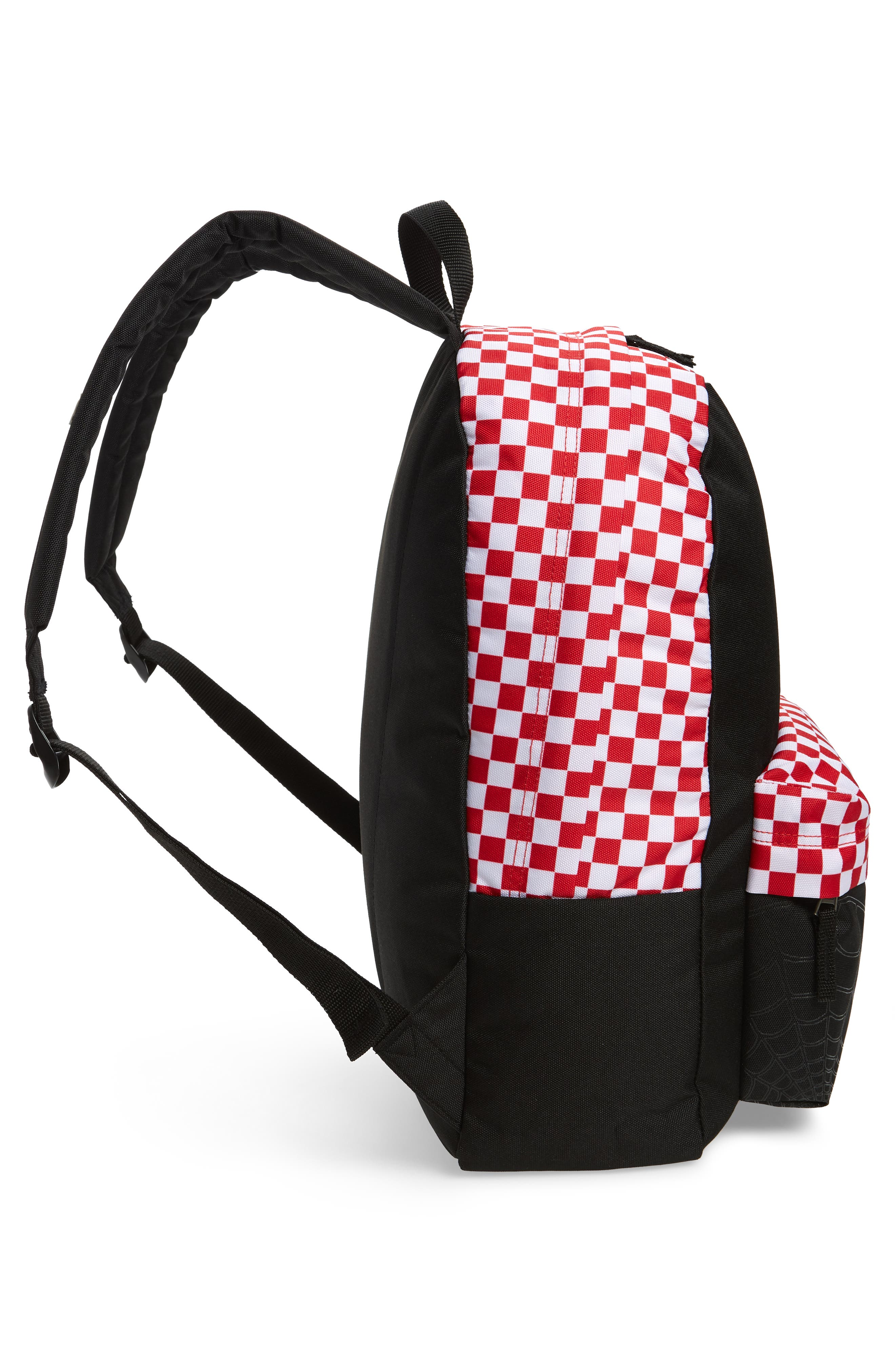 x Marvel<sup>®</sup> Spidey Realm Backpack,                             Alternate thumbnail 3, color,                             Black/ Racing Red