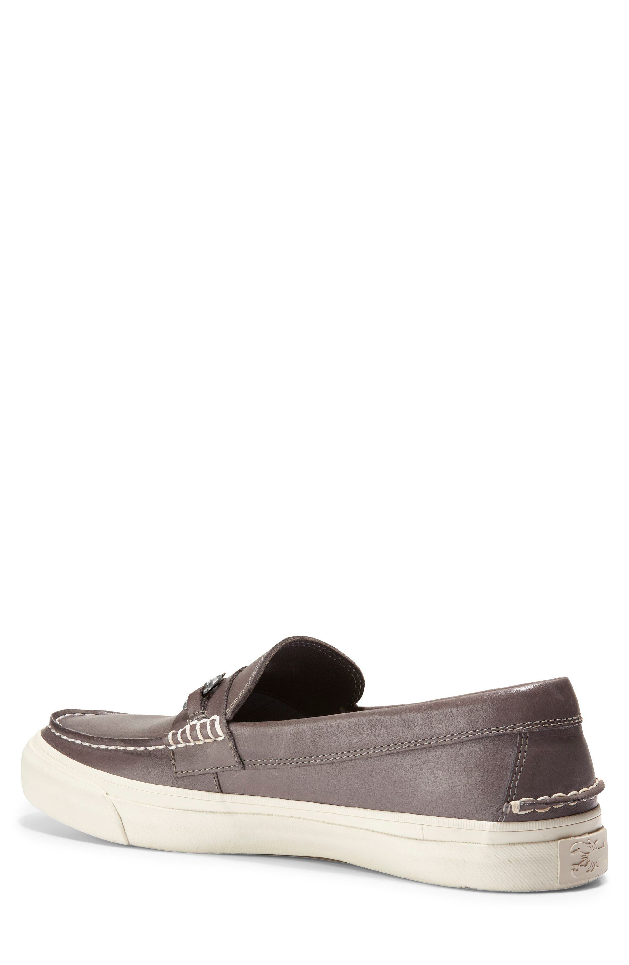 Pinch Weekend Loafer,                             Alternate thumbnail 2, color,                             Stormcloud Handstain