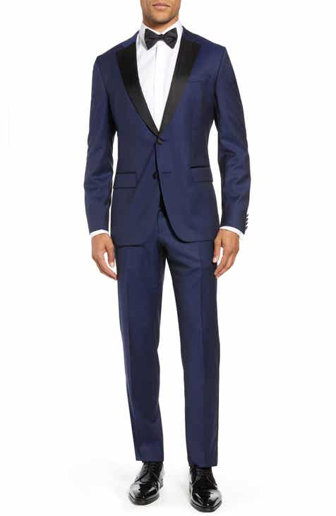 d3254b202 BOSS Halven/Gentry Slim Fit Wool Tuxedo