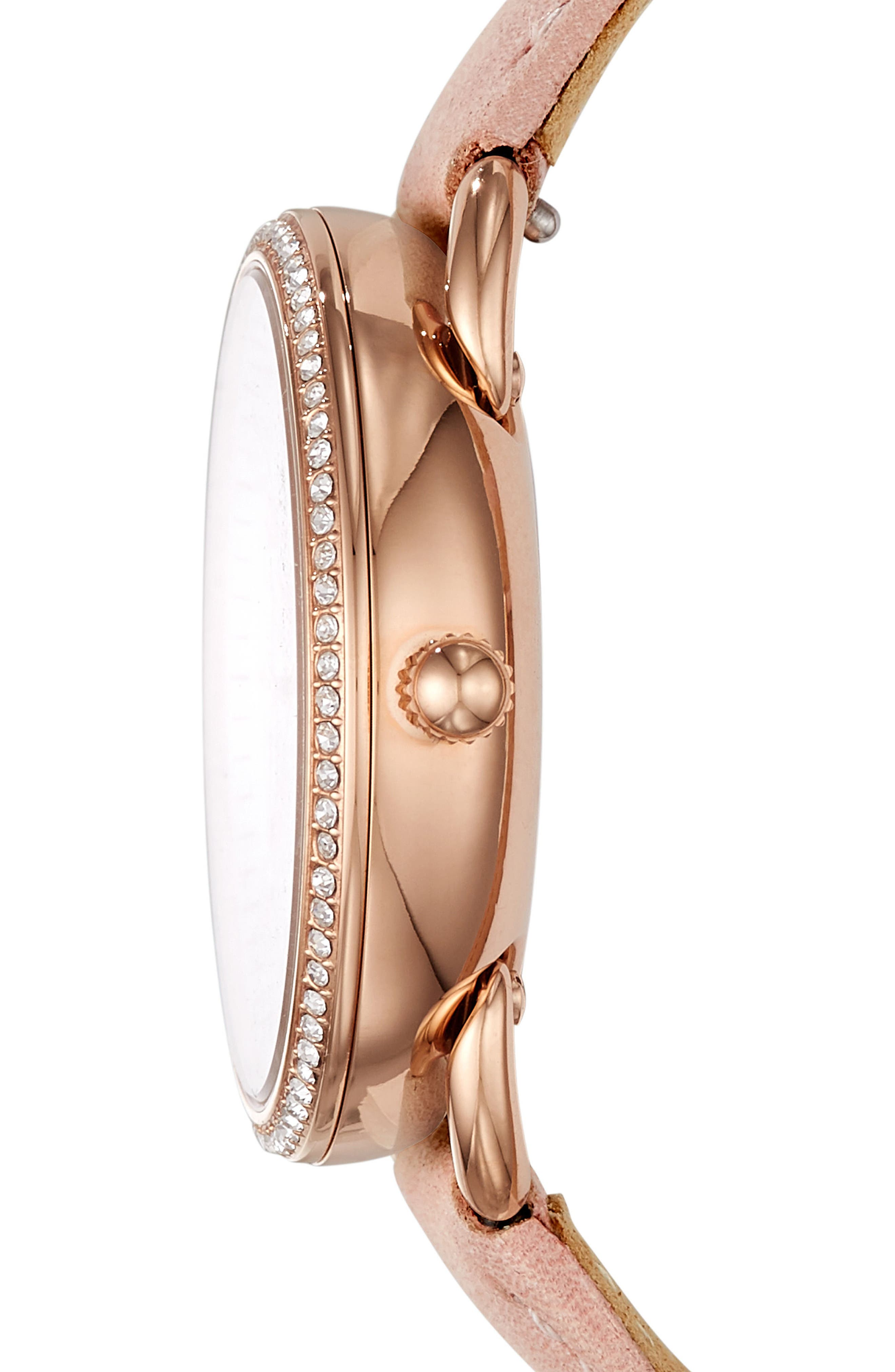 Tailor Multifunction Watch, 35mm,                             Alternate thumbnail 2, color,                             Beige/ Silver/ Rose Gold