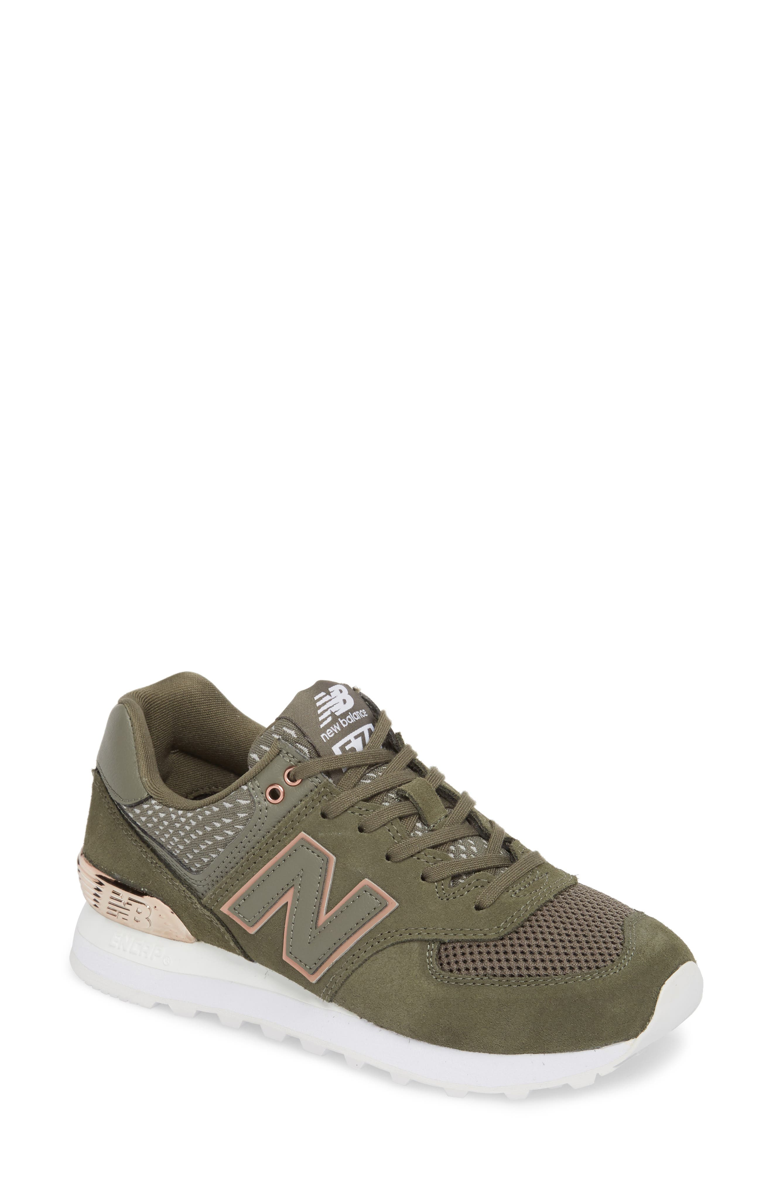 men's new balance 574 molten metal casual shoes
