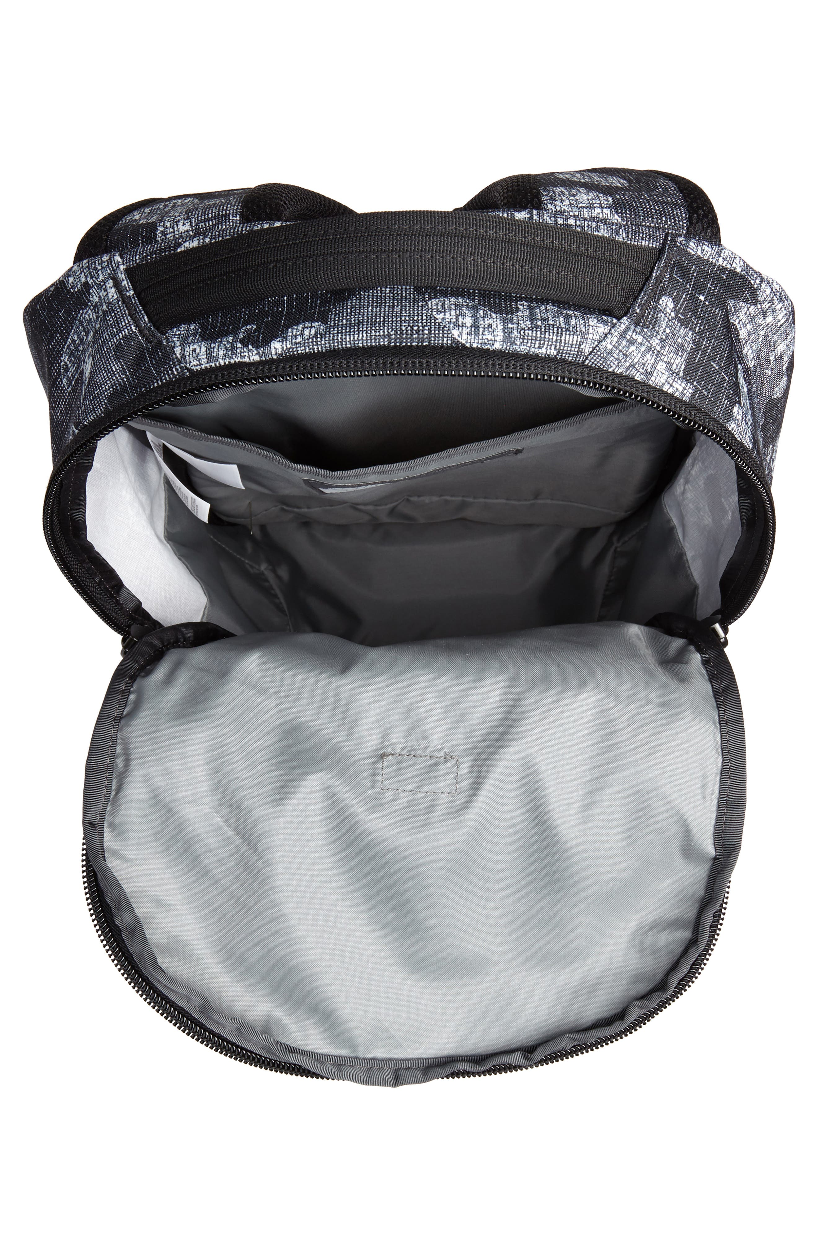 Vault Backpack,                             Alternate thumbnail 4, color,                             Tnf Black Textured Camo Print