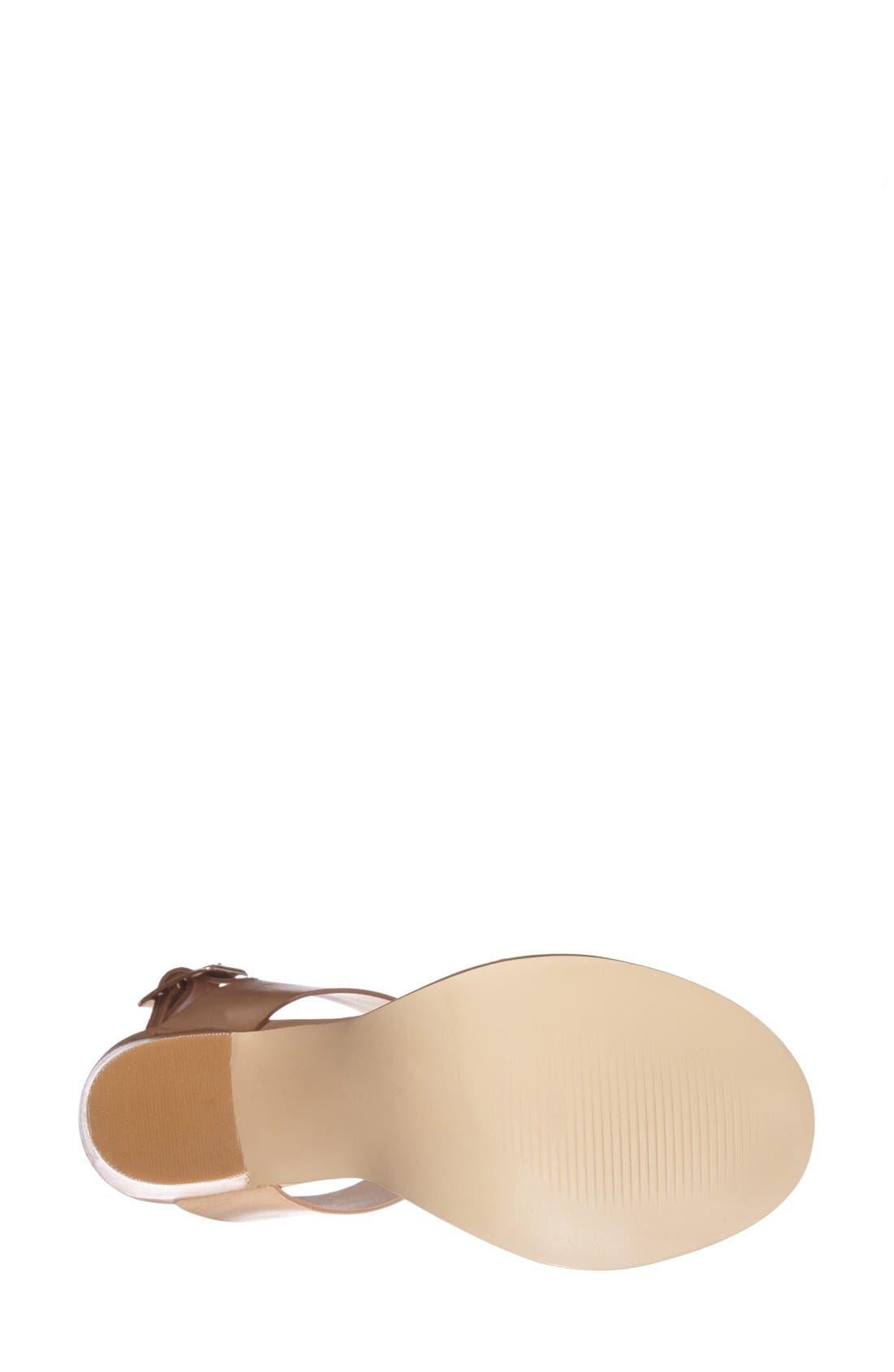 Alternate Image 4  - Steve Madden 'Blaair' Leather Slingback Sandal (Women)