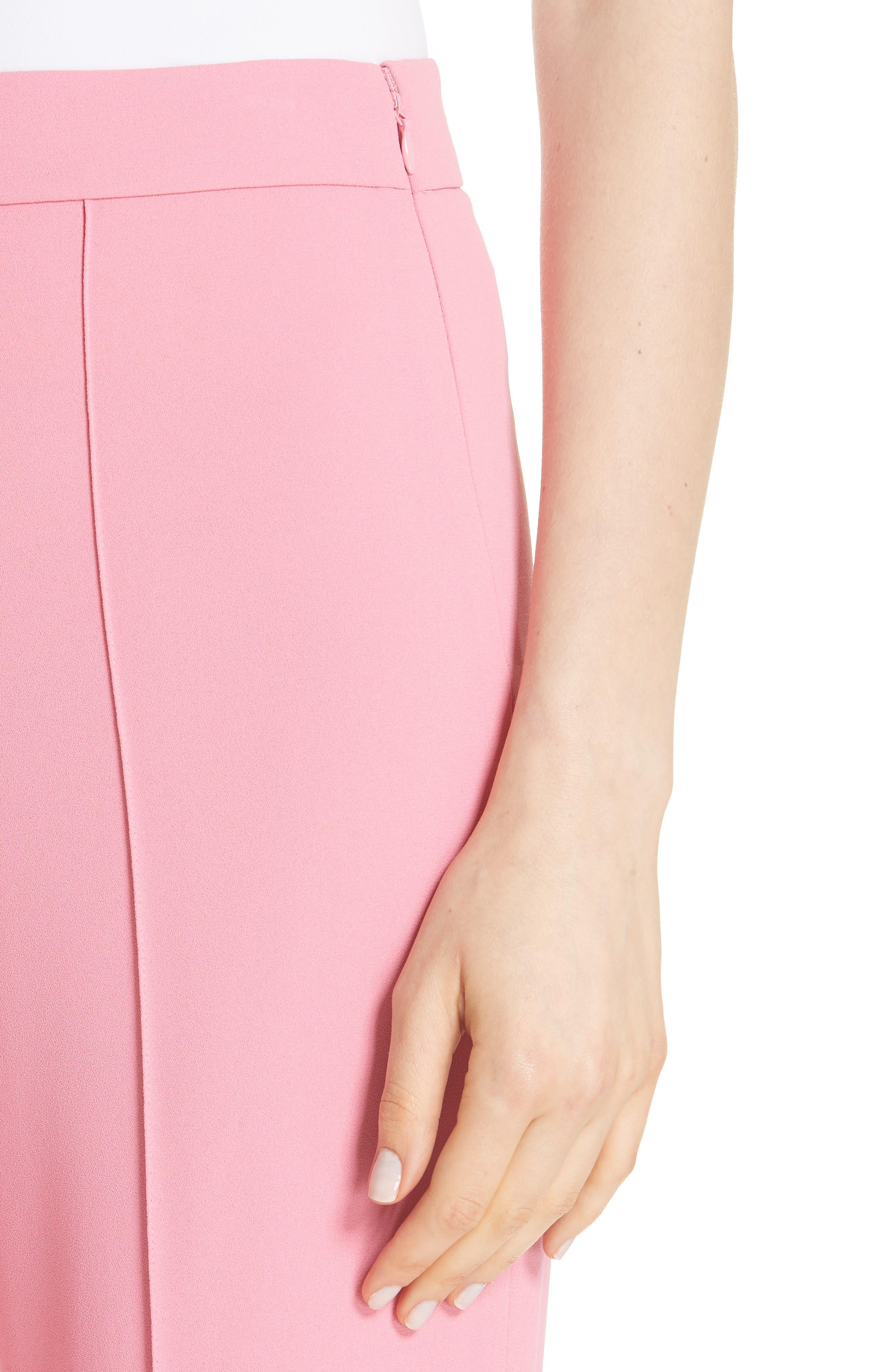 Jalisa High Waist Flare Pants,                             Alternate thumbnail 3, color,                             Bubblegum