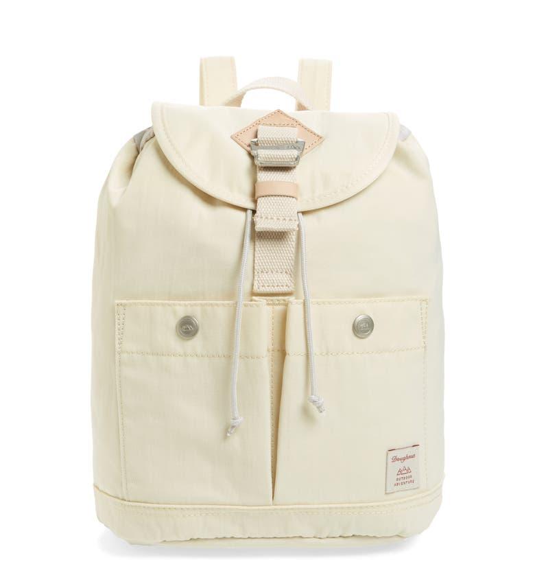 Doughnut Mini Montana Water Repellent Backpack - White In Cream ... 40e51838de4f6