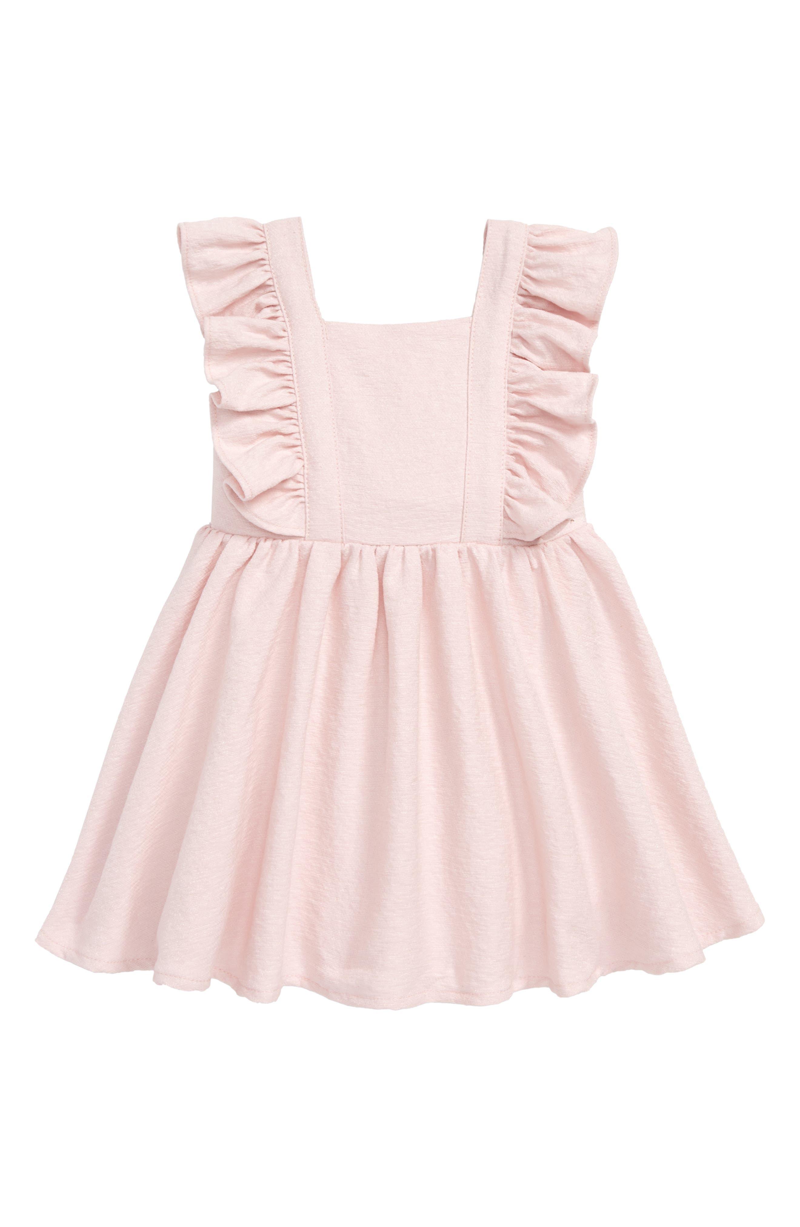 Estella Bow Party Dress,                             Main thumbnail 1, color,                             Potpourri
