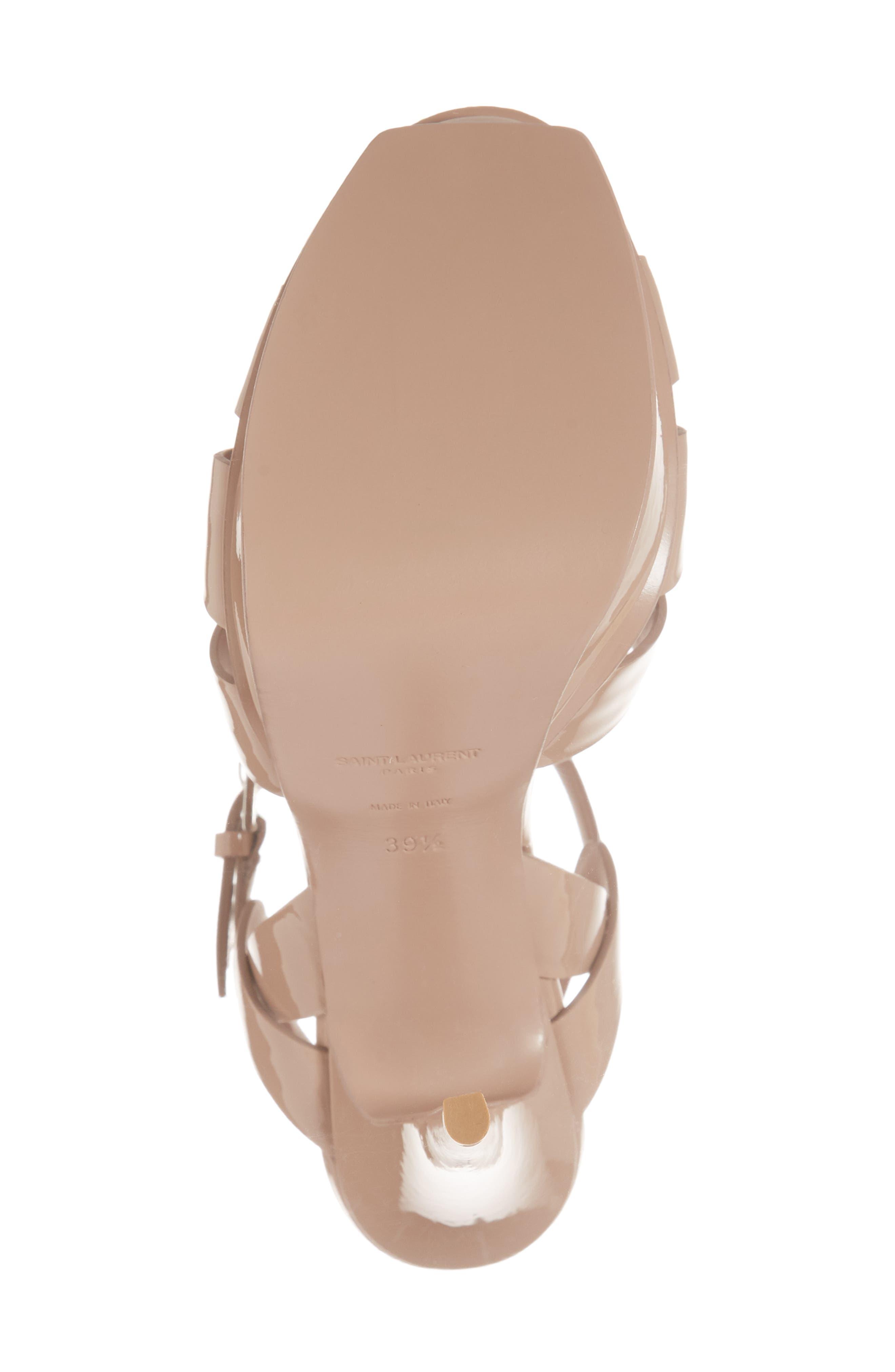 Tribute T-Strap Platform Sandal,                             Alternate thumbnail 3, color,                             Nude Rose