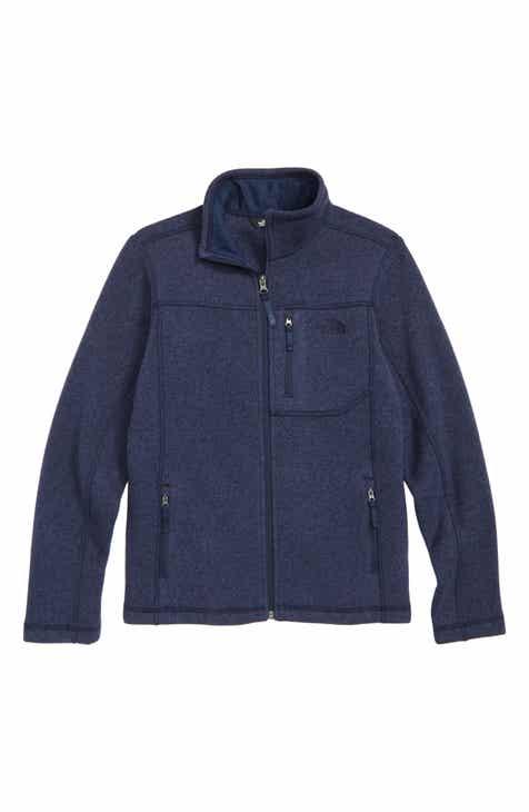 The North Face Gordon Lyons Sweater Fleece Zip Jacket (Big Boys) d6b358182