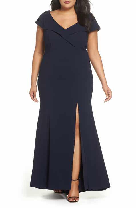 Womens Xscape Plus Size Dresses Nordstrom