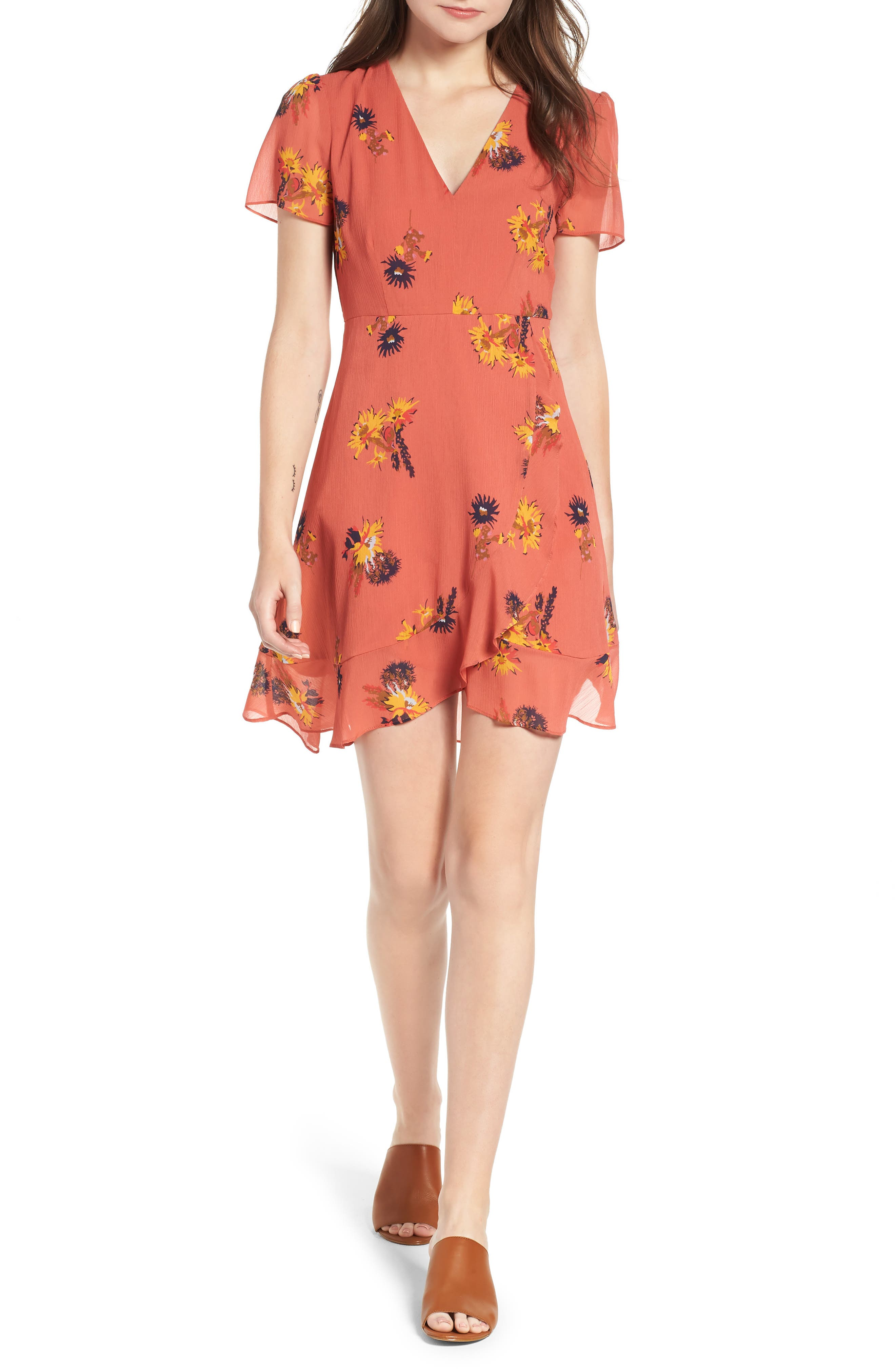 POSY CACTUS FLOWER DRESS