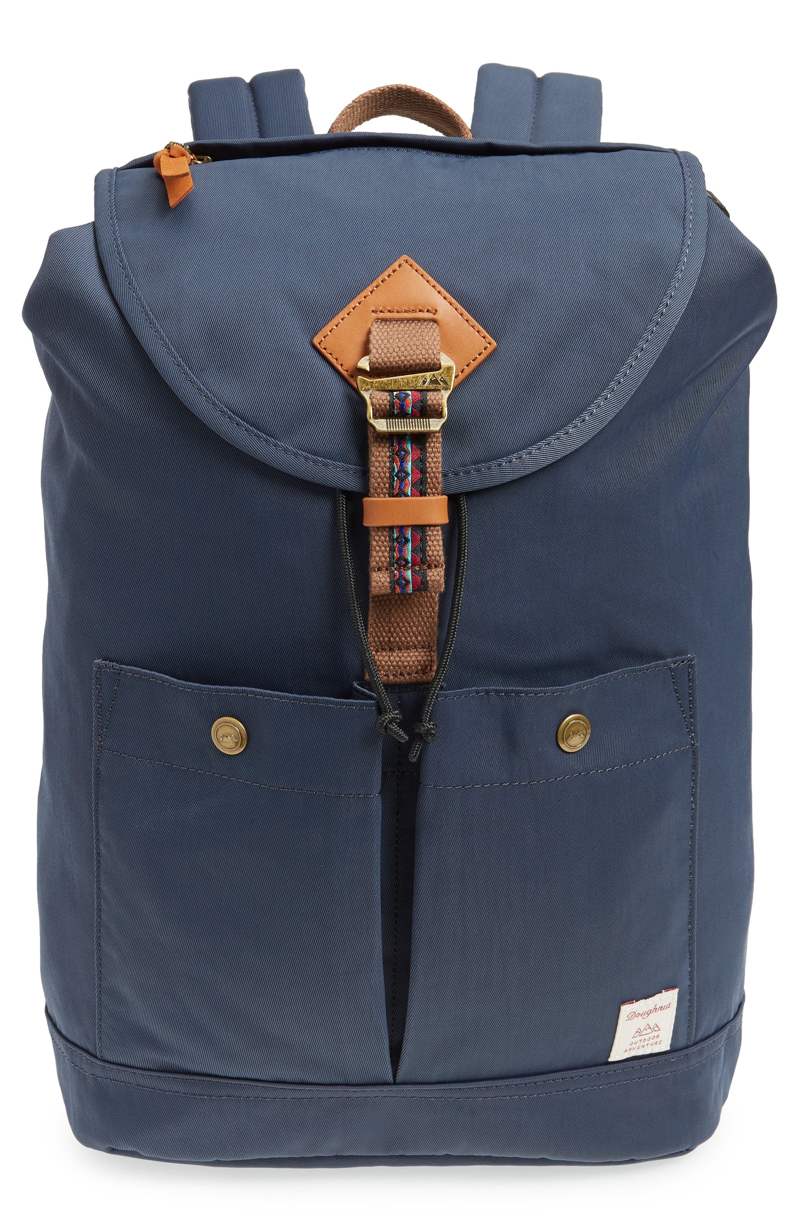 MONTANA BO-HE WATER REPELLENT BACKPACK - BLUE